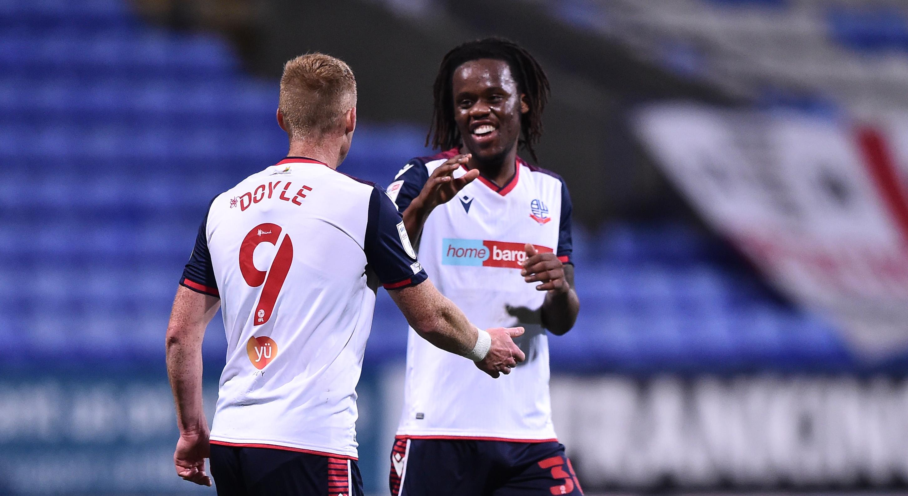 Bolton Wanderers v Salford City - Sky Bet League Two