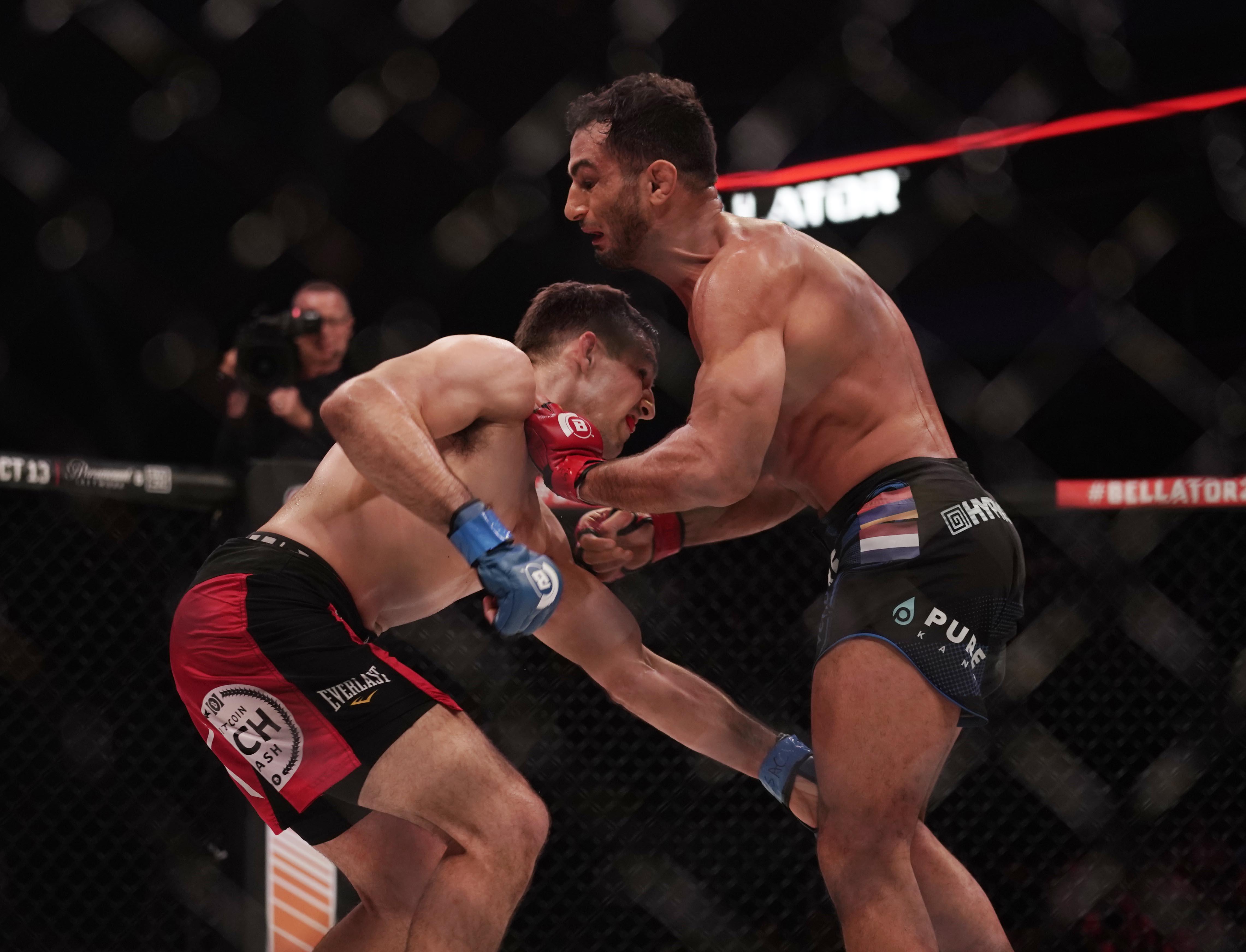 MMA: Bellator 206-Mousasi vs Macdonald