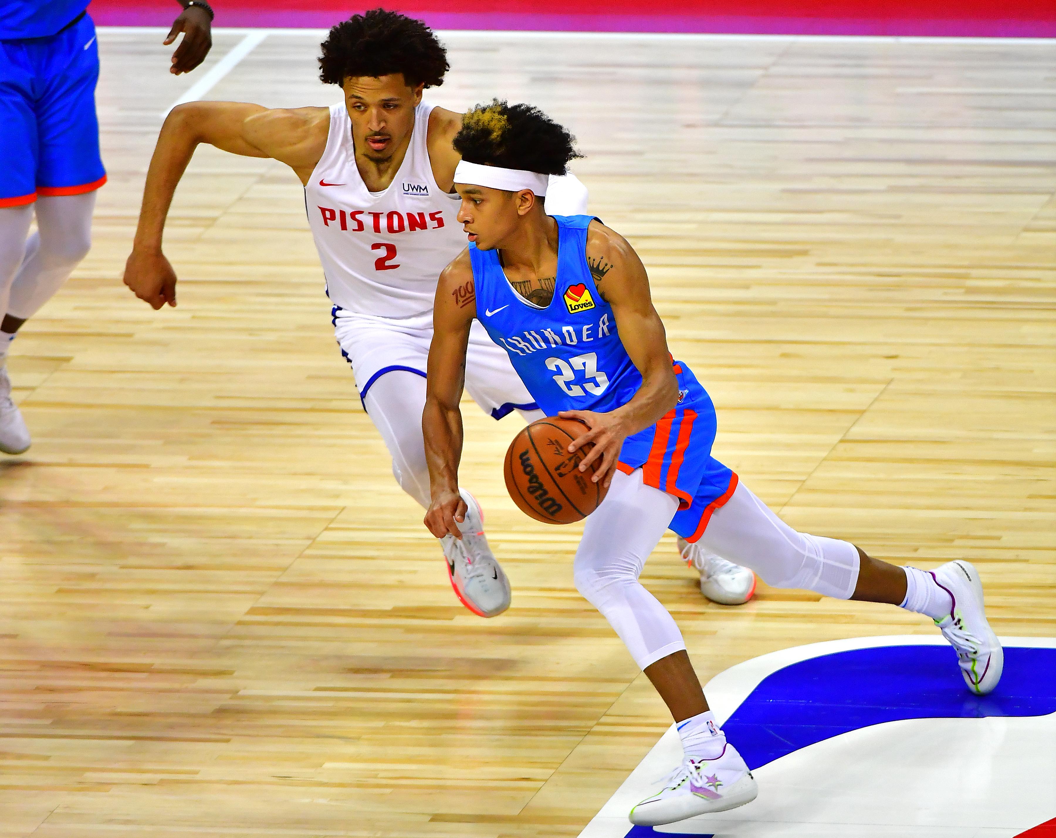 NBA: Summer League-Oklahoma City Thunder at Detroit Pistons