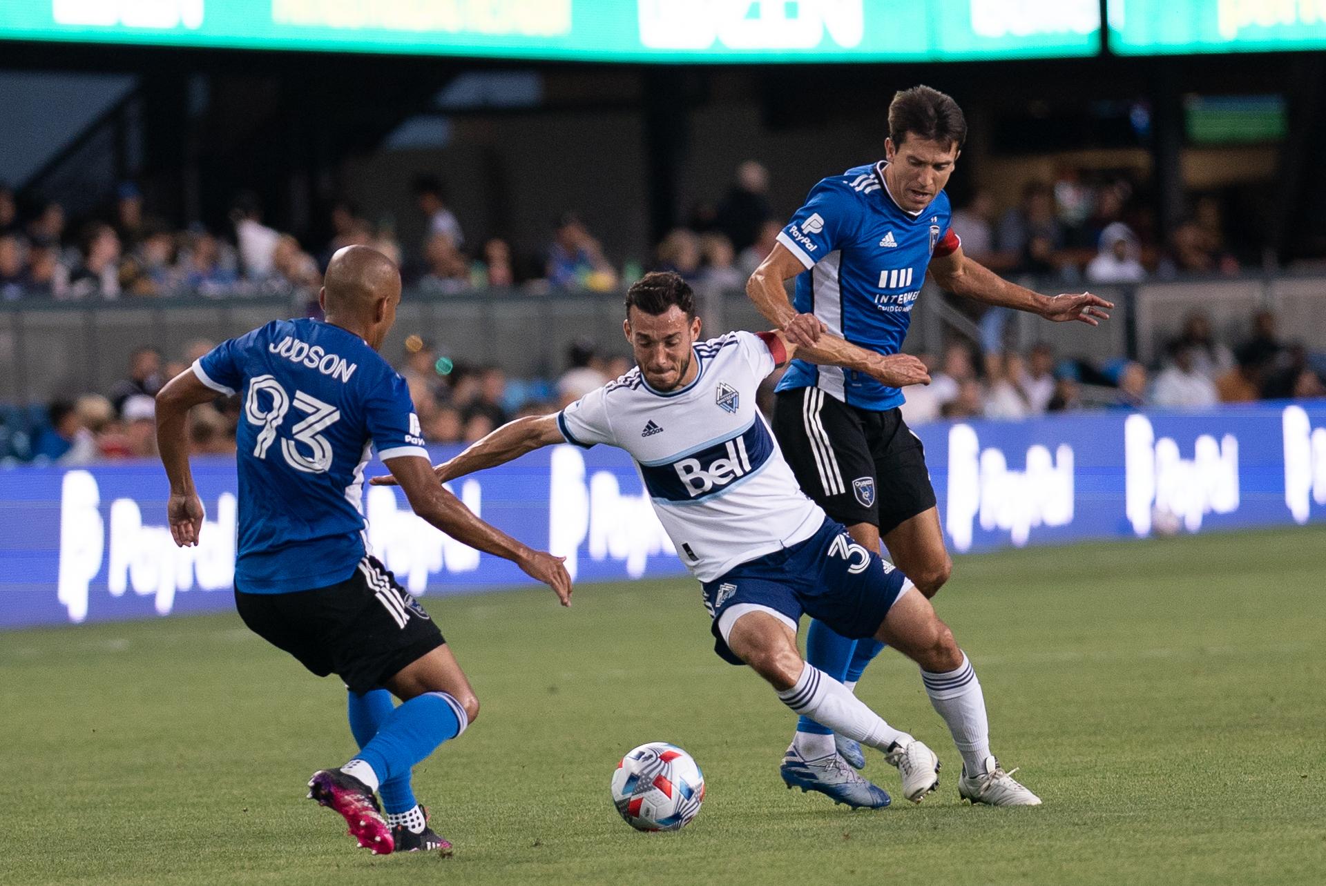 MLS: Vancouver Whitecaps FC at San Jose Earthquakes