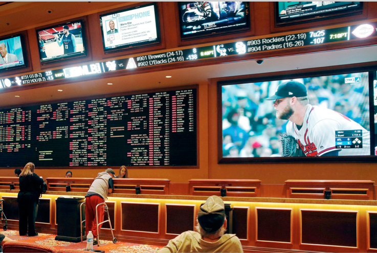This year alone, nine states already have written $1 billion worth of legal sports-wagering tickets.