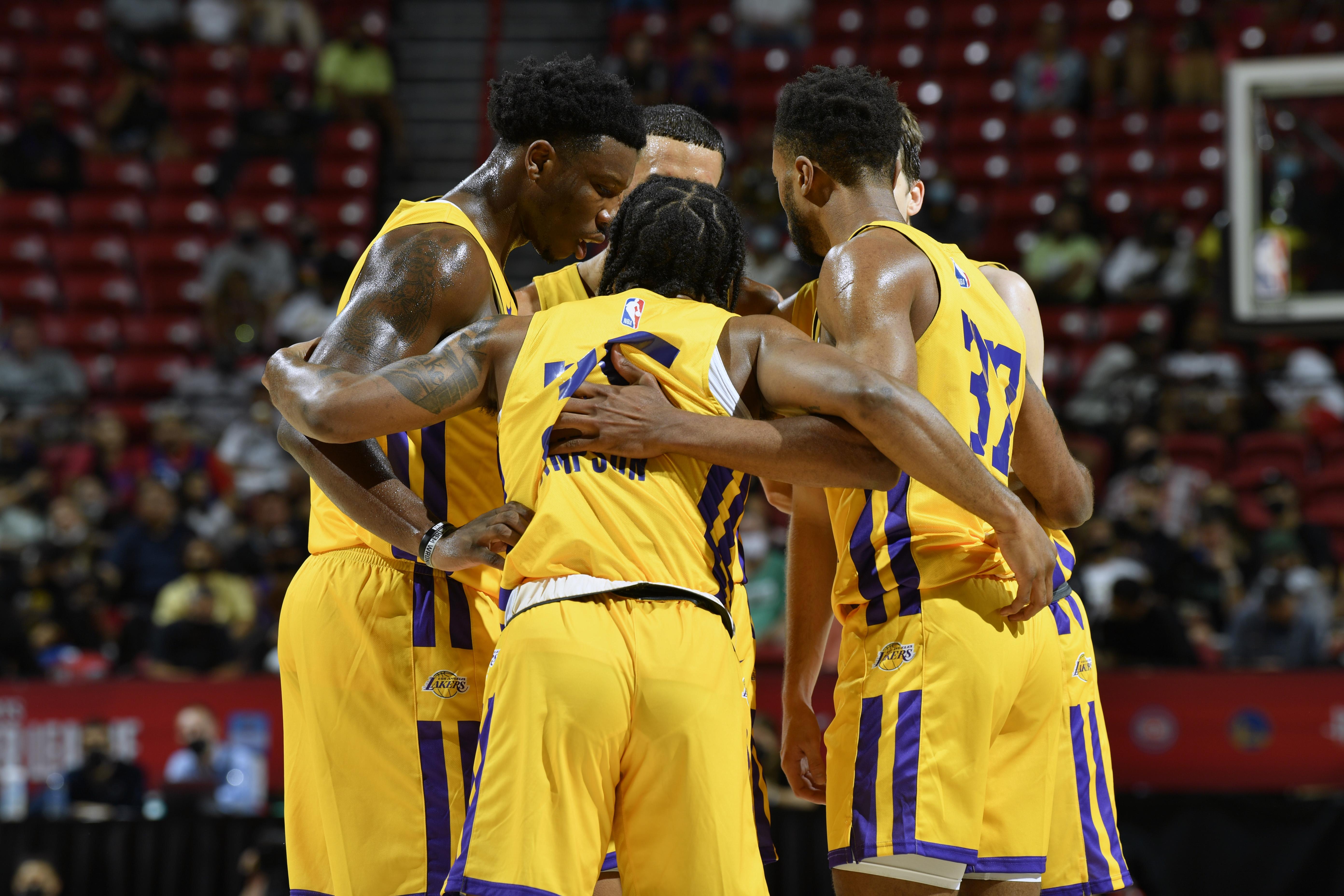 2021 Las Vegas Summer League - Los Angeles Lakers v LA Clippers