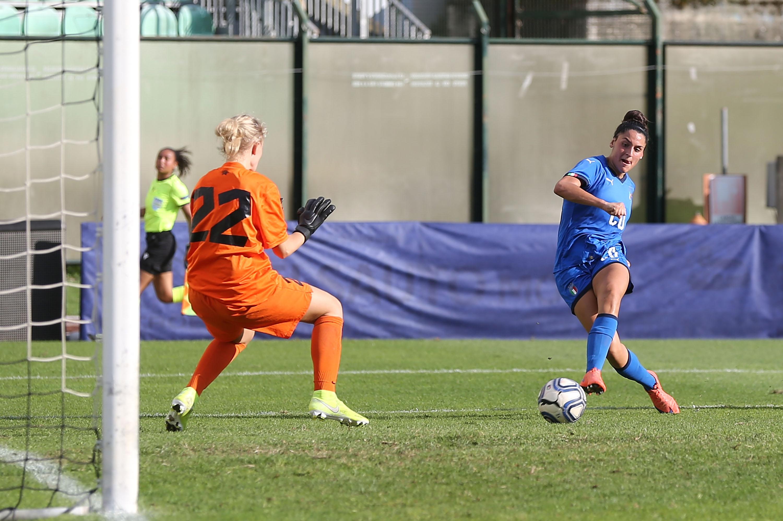 Italy v Estonia: UEFA European Women's Under-19 Qualifying Round - Group 8