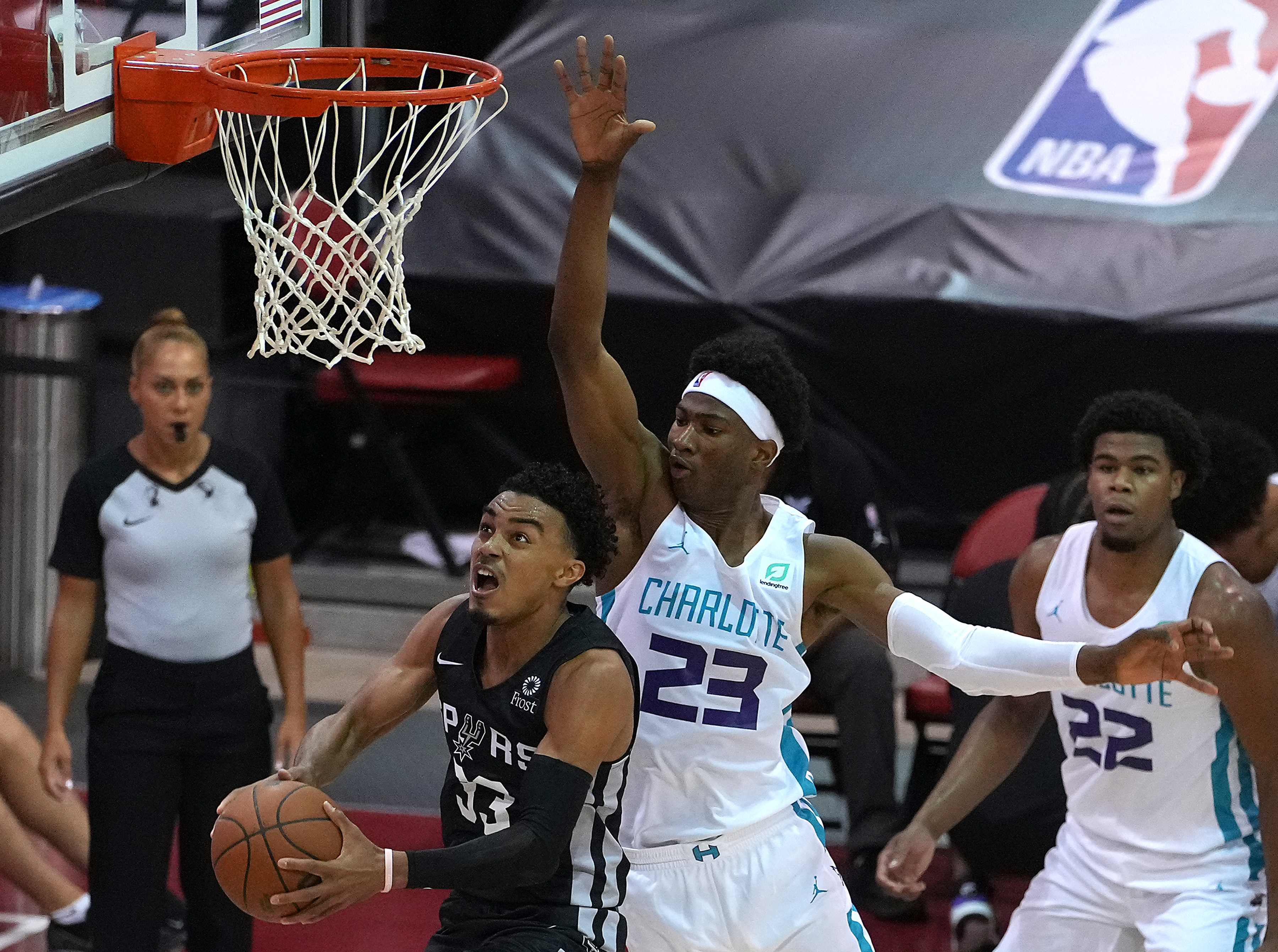 NBA: Summer League-San Antonio Spurs at Charlotte Hornets