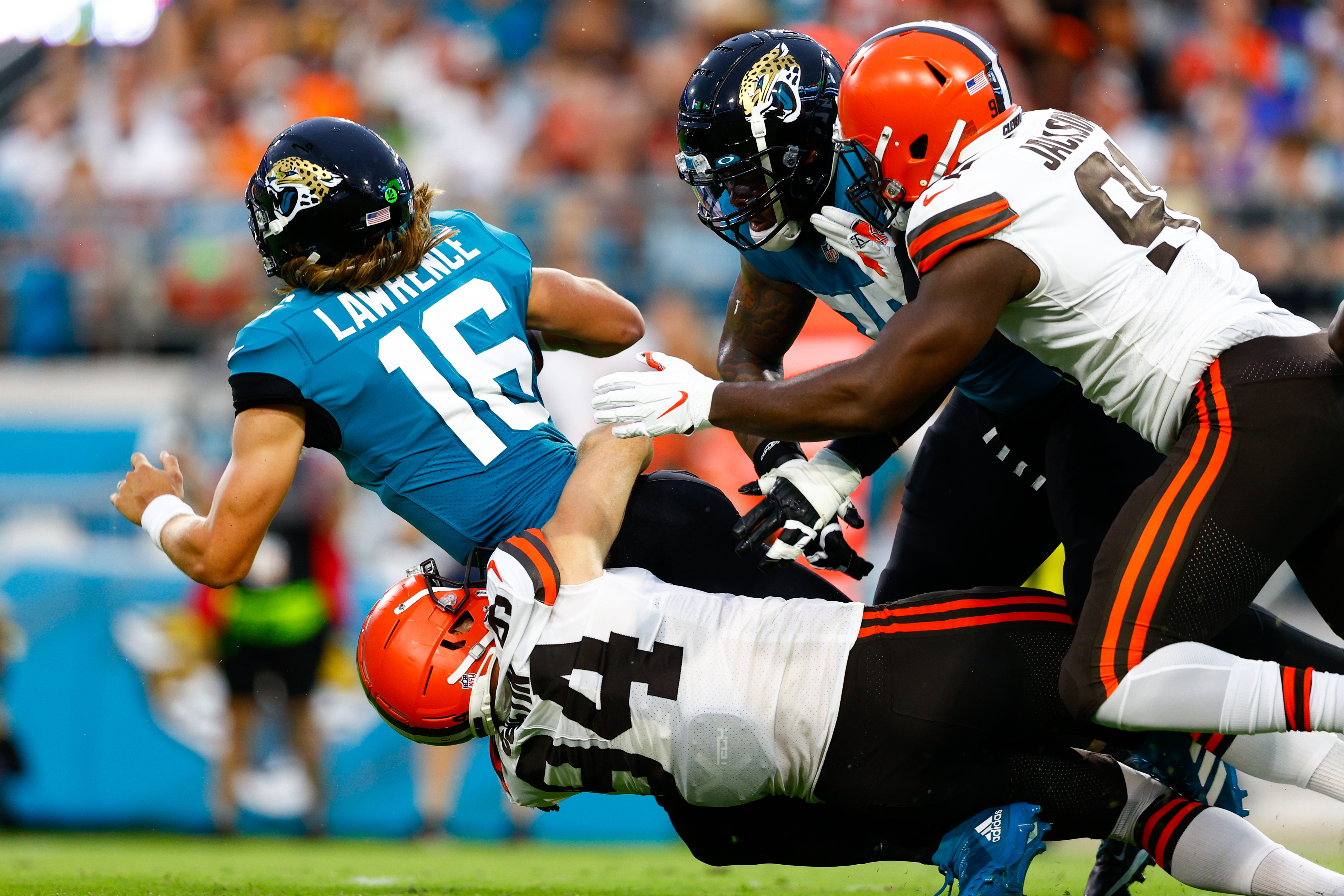 NFL: Cleveland Browns at Jacksonville Jaguars