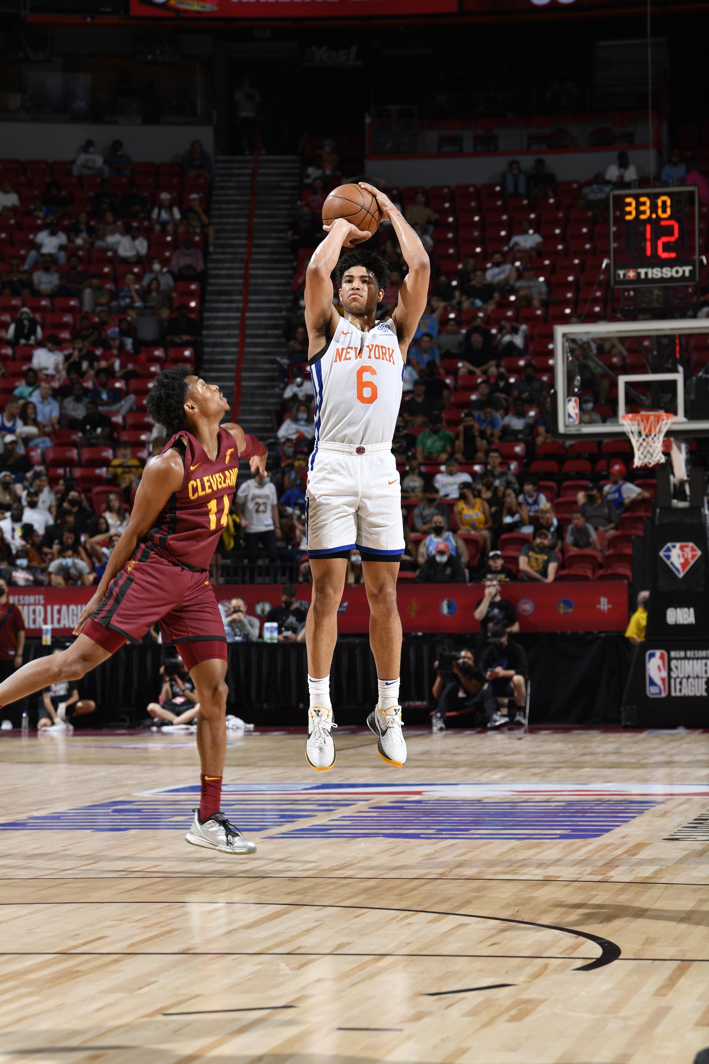 2021 Las Vegas Summer League - Cleveland Cavaliers v New York Knicks