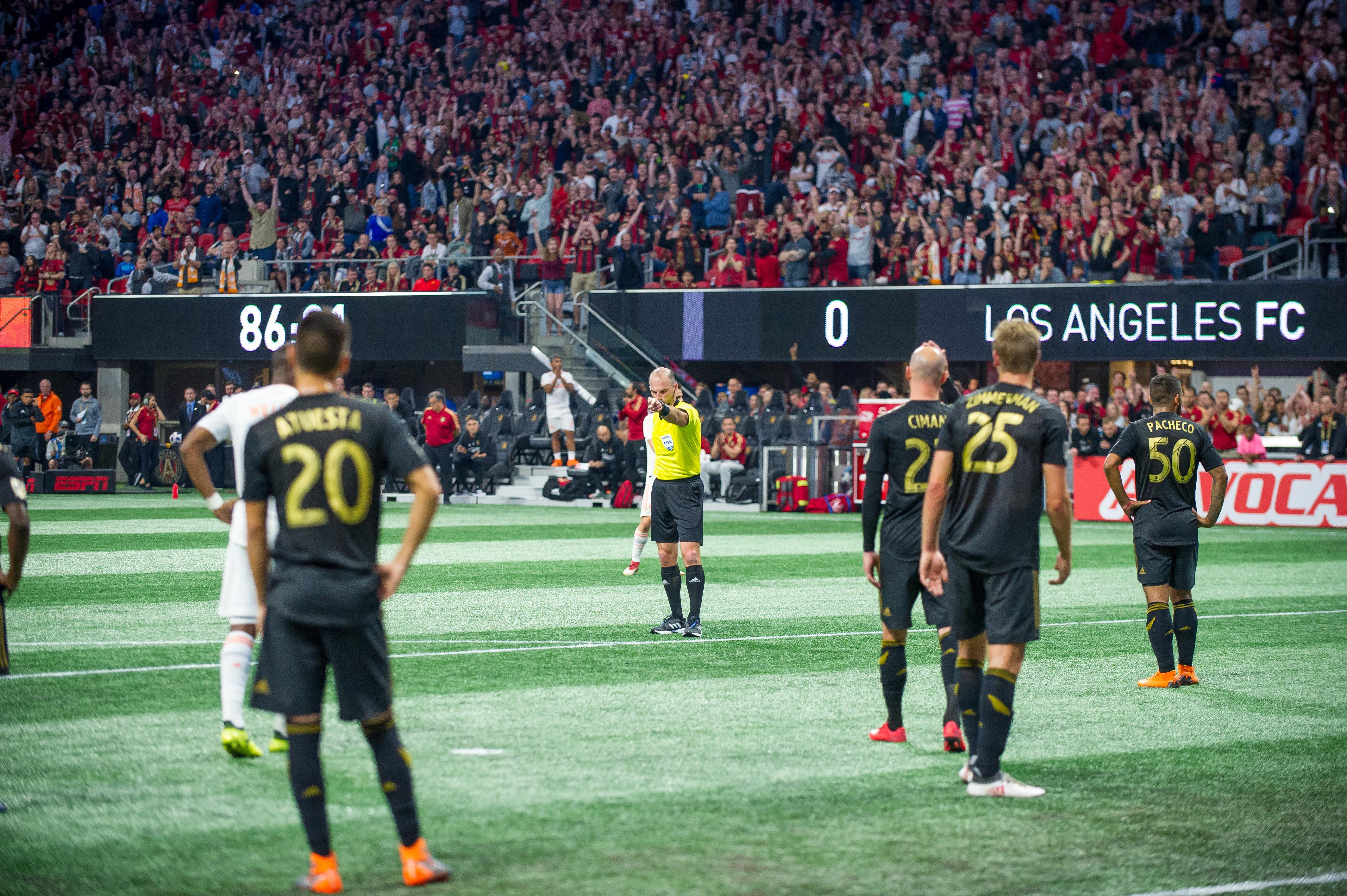 SOCCER: APR 07 MLS - Los Angeles FC at Atlanta United FC