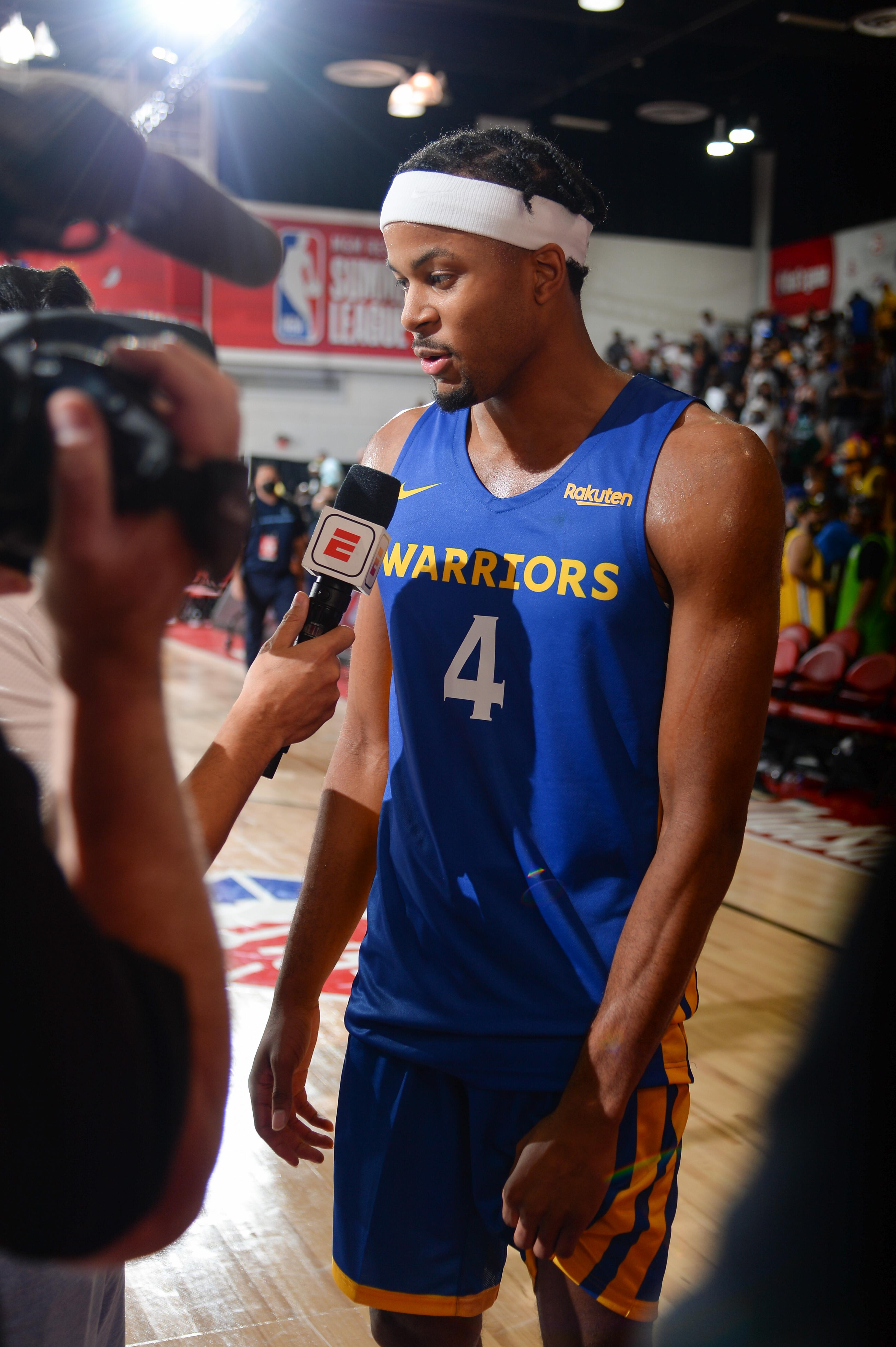 2021 Las Vegas Summer League - Golden State Warriors v Oklahoma City Thunder