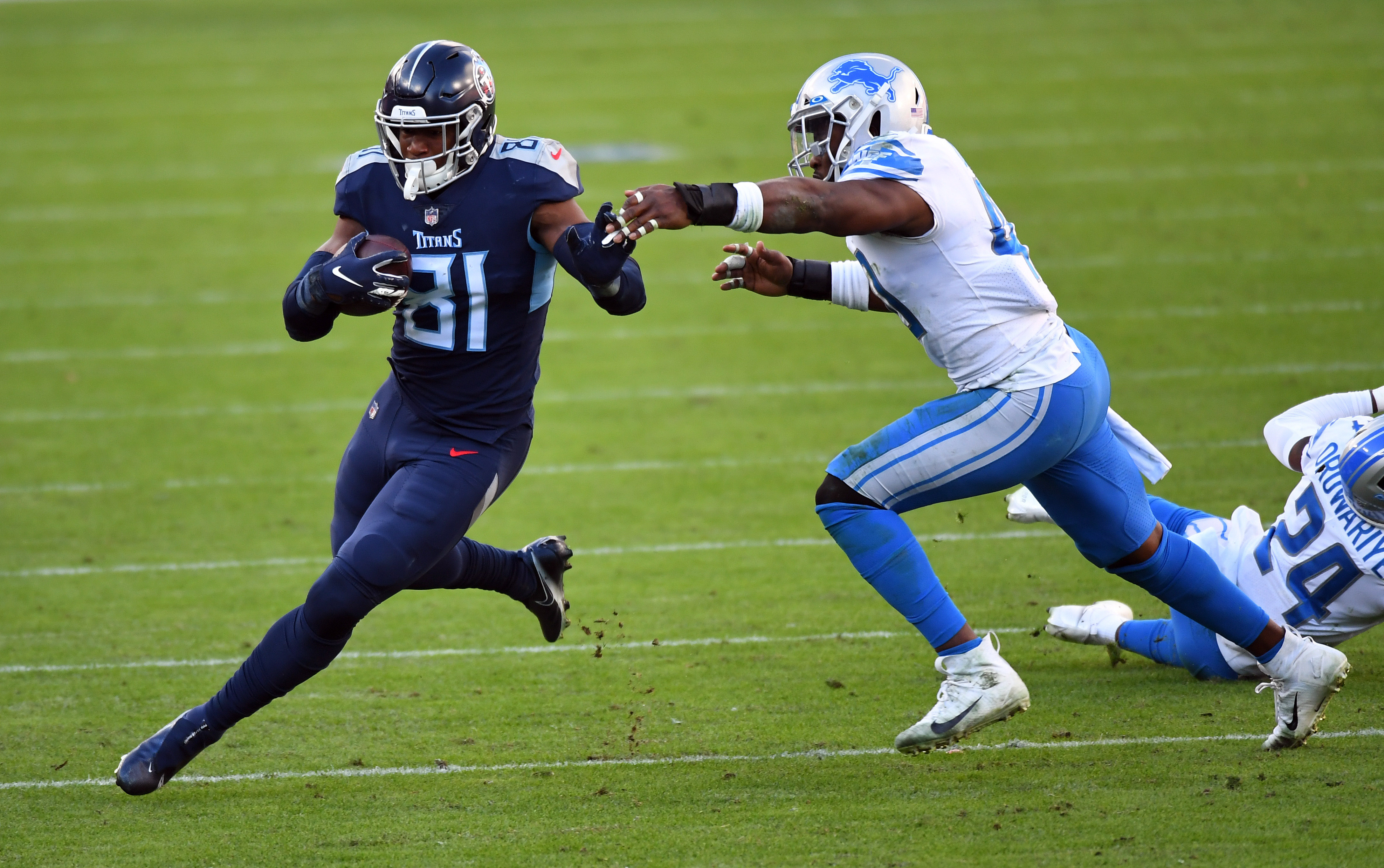 NFL: Detroit Lions at Tennessee Titans