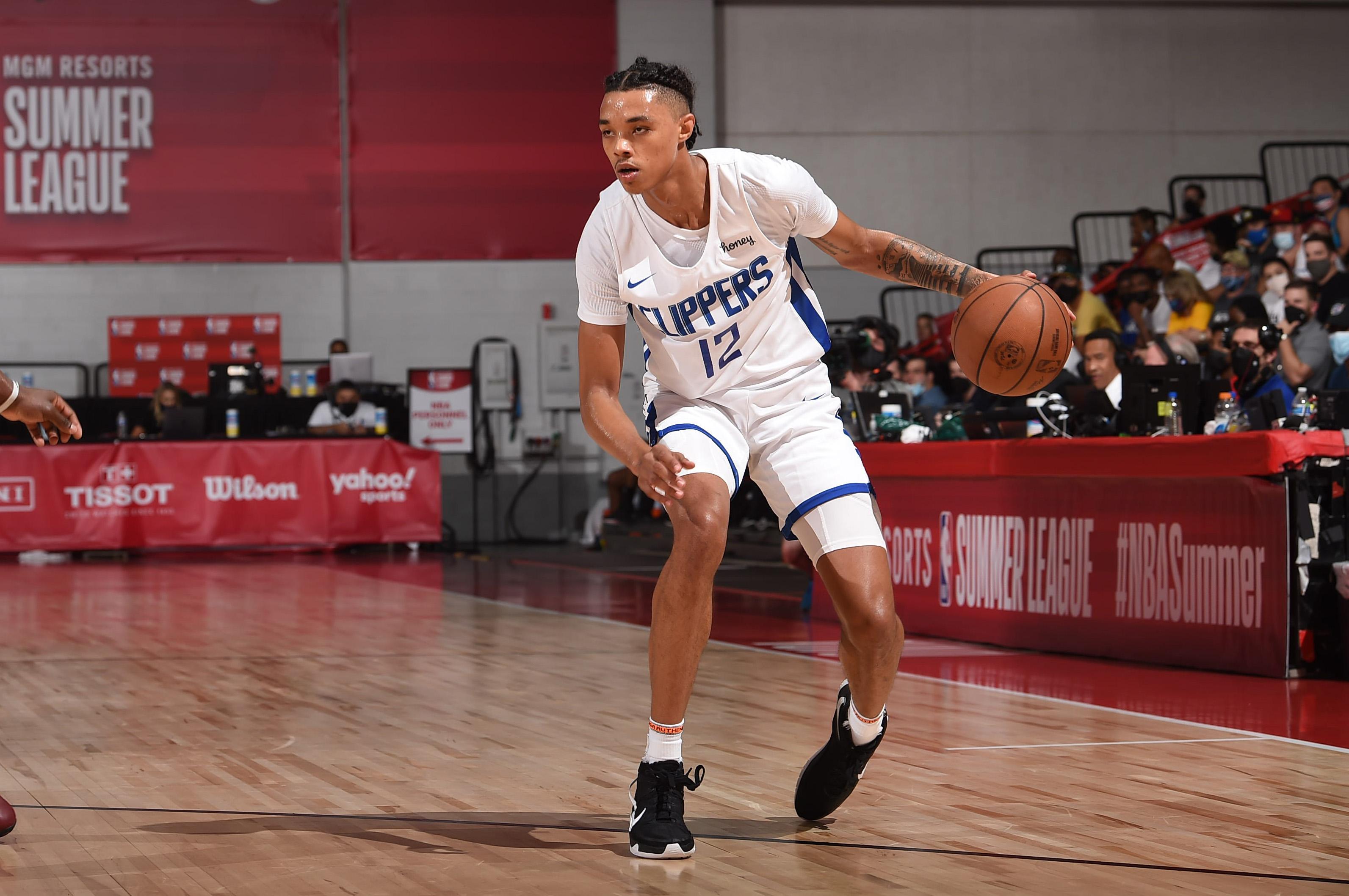 2021 Las Vegas Summer League - Utah Jazz v LA Clippers