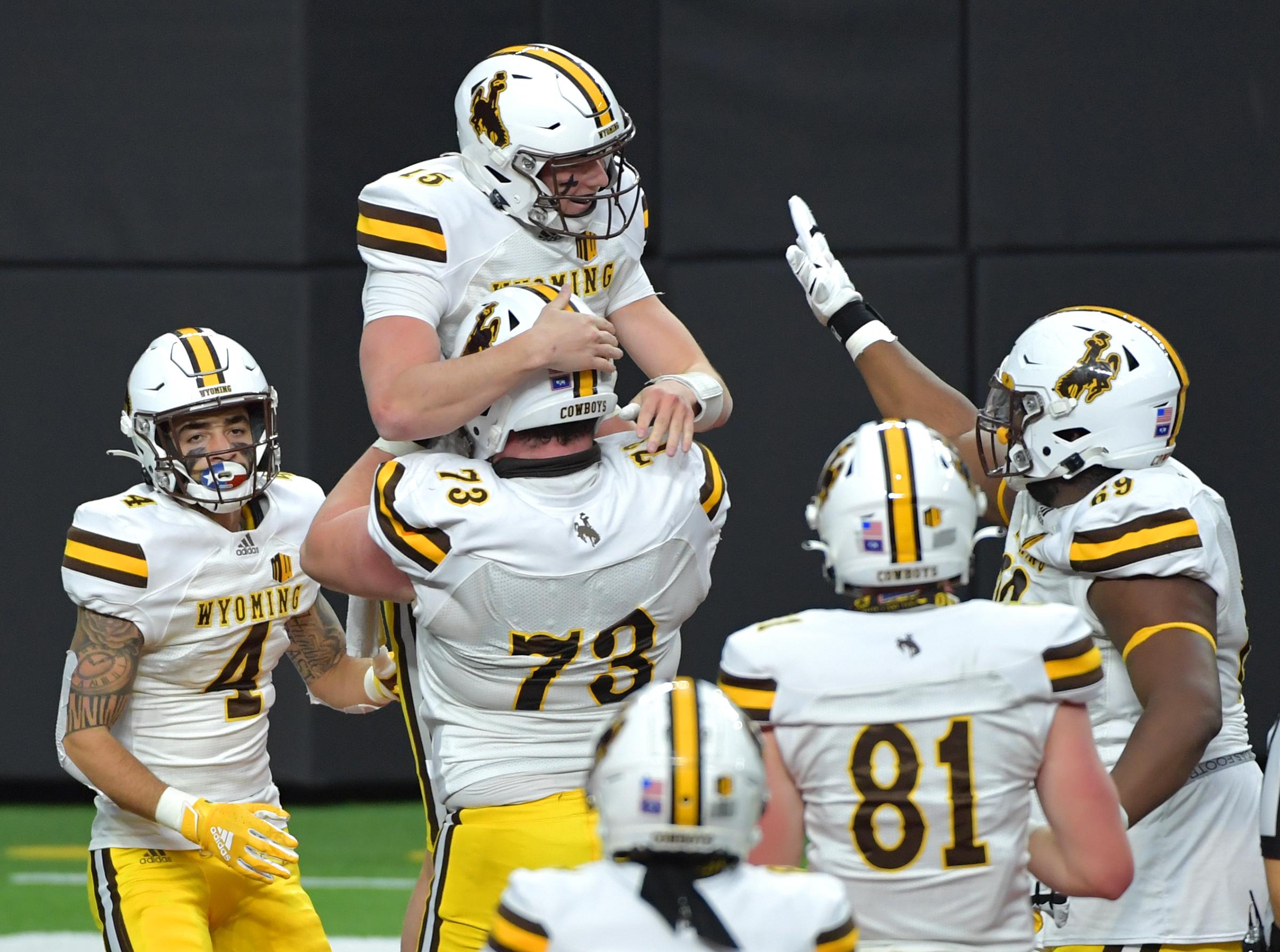 NCAA Football: Wyoming at UNLV