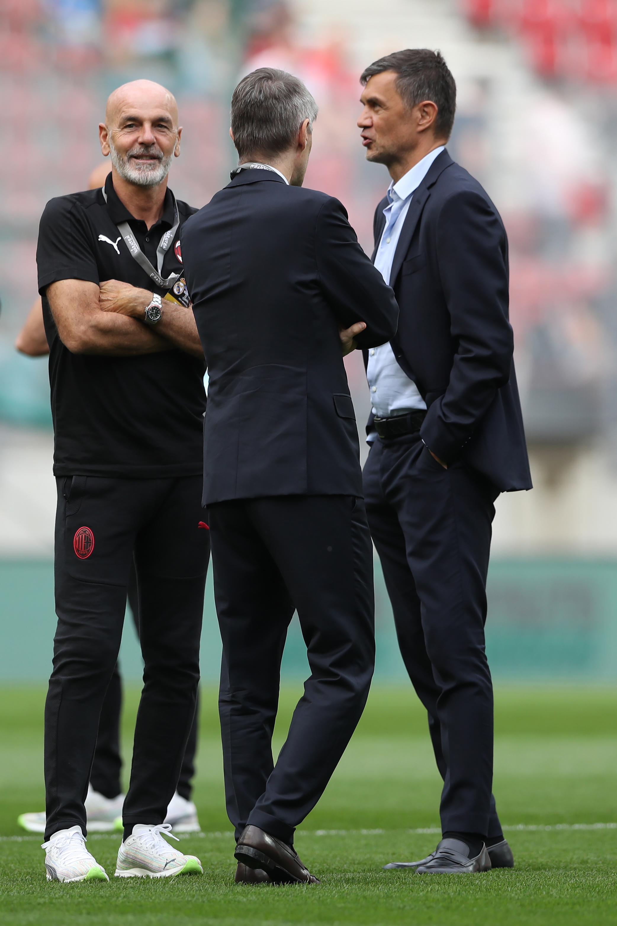 Real Madrid v AC Milan - Pre-Season Friendly