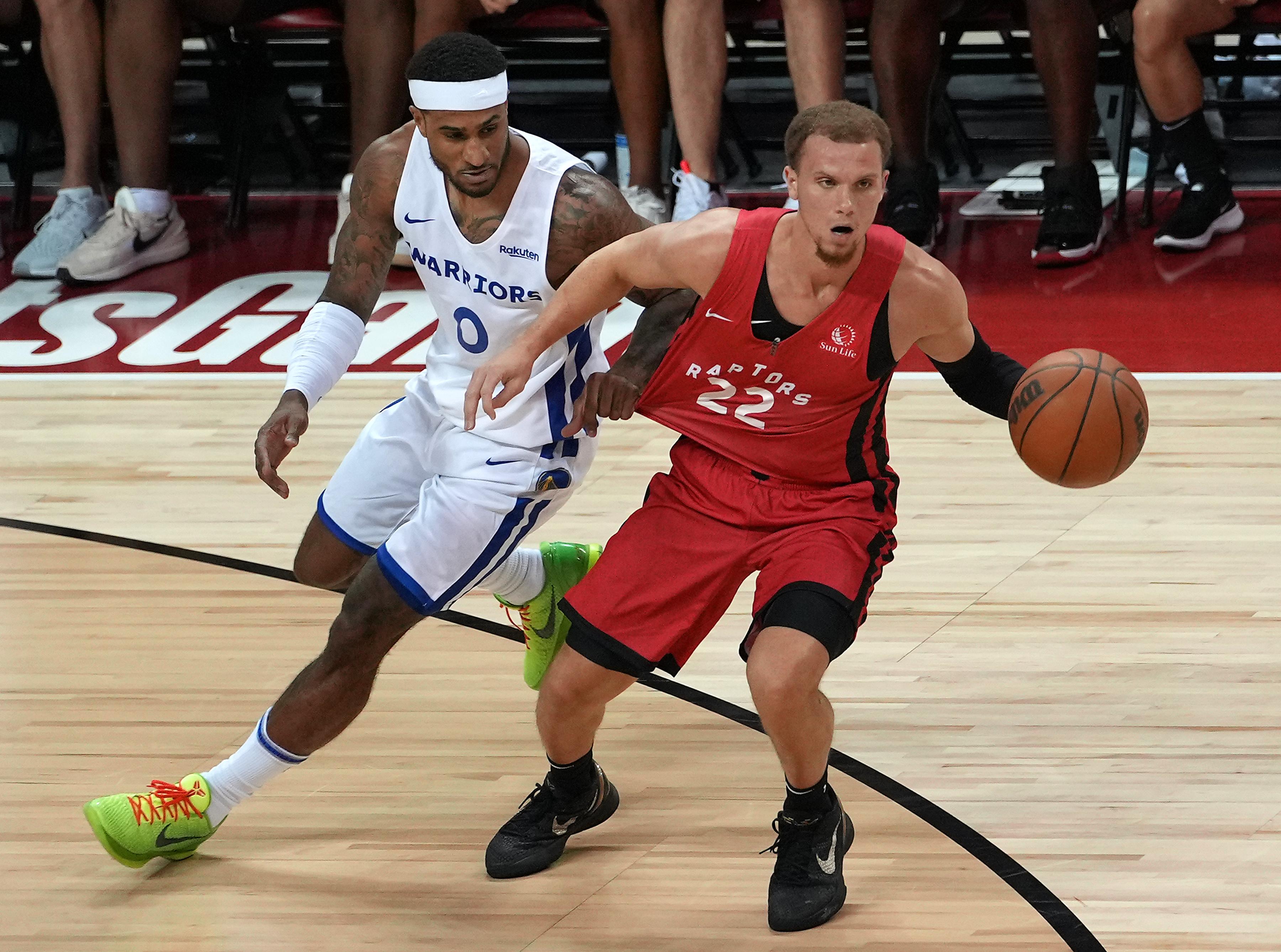 NBA: Summer League-Toronto Raptors at Golden State Warriors