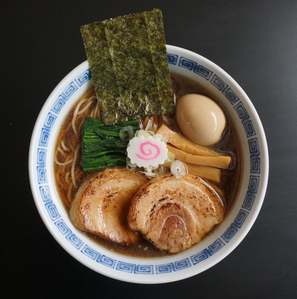 The classic shoyu ramen from Ramen 512