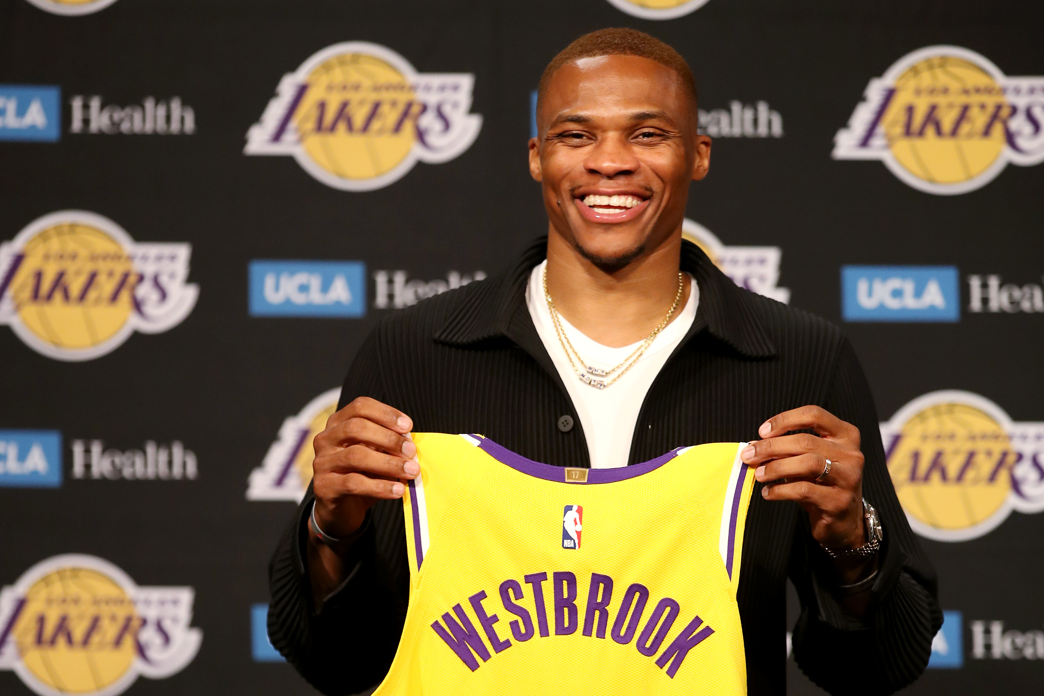 Los Angeles Lakers Introduce Russell Westbrook