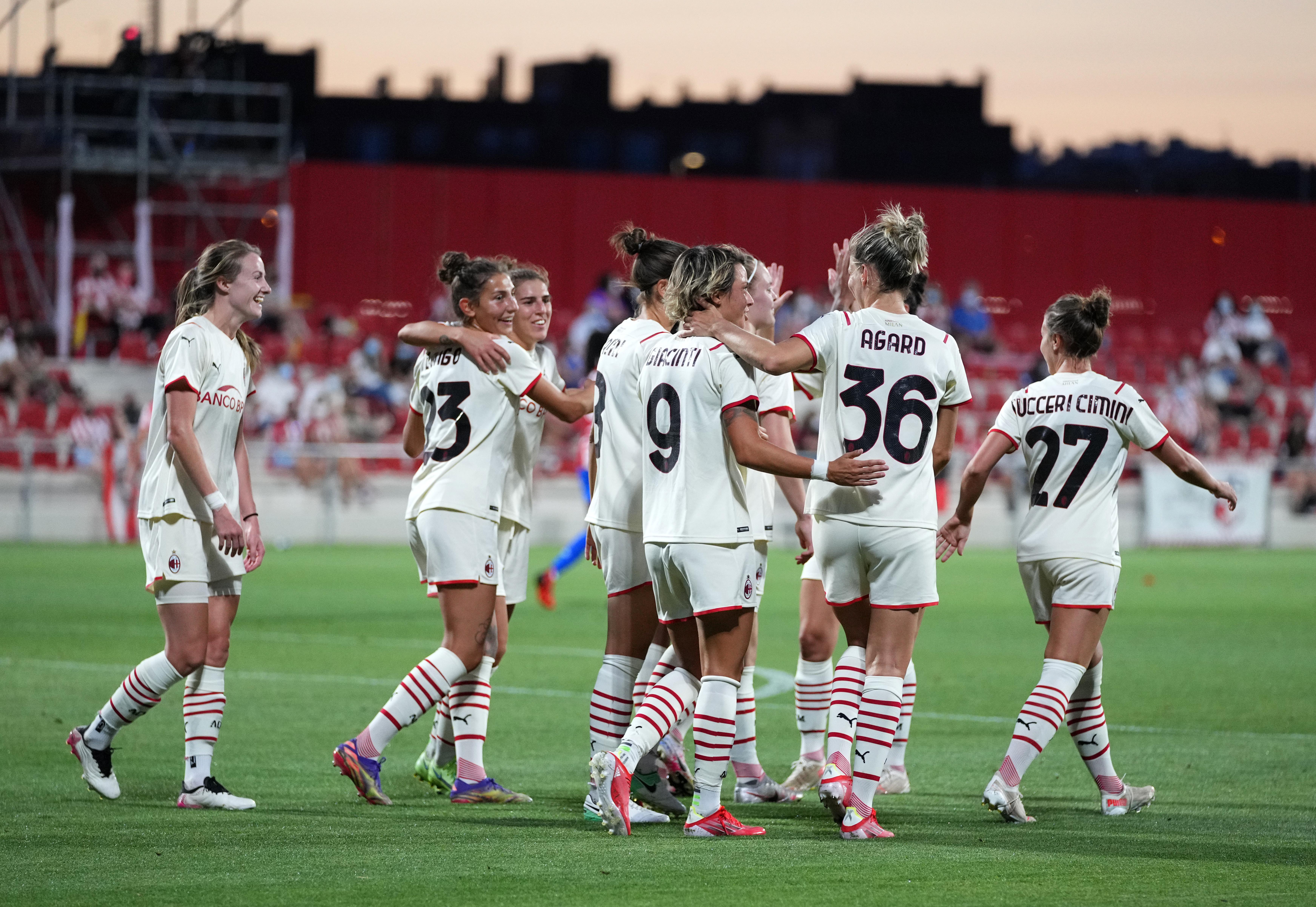 Atletico de Madrid Women v AC Milan Women - Pre-Season Friendly