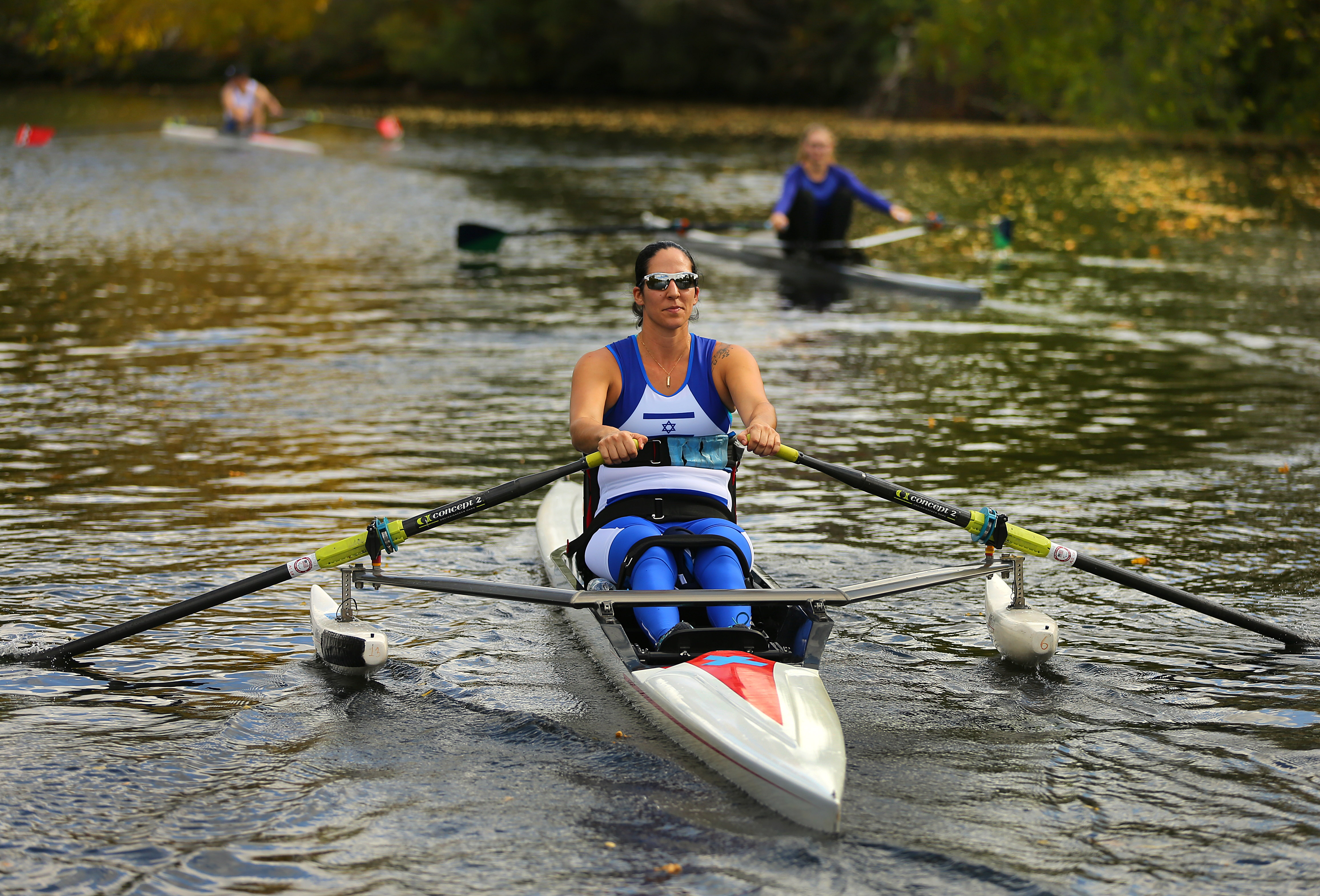 Israelis' Appearance At Head Of The Charles A Historic Moment