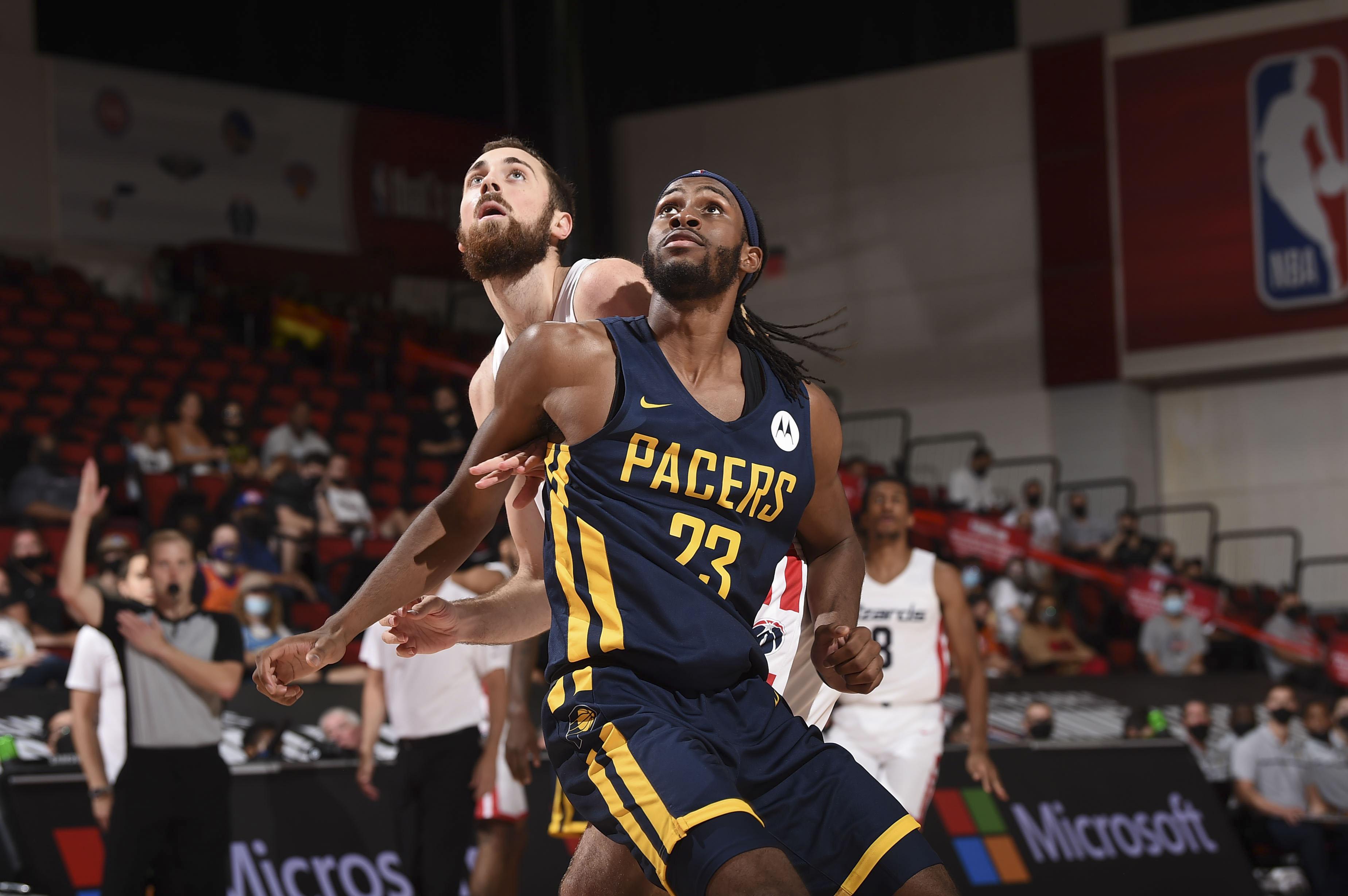 2021 Las Vegas Summer League - Indiana Pacers v Washington Wizards