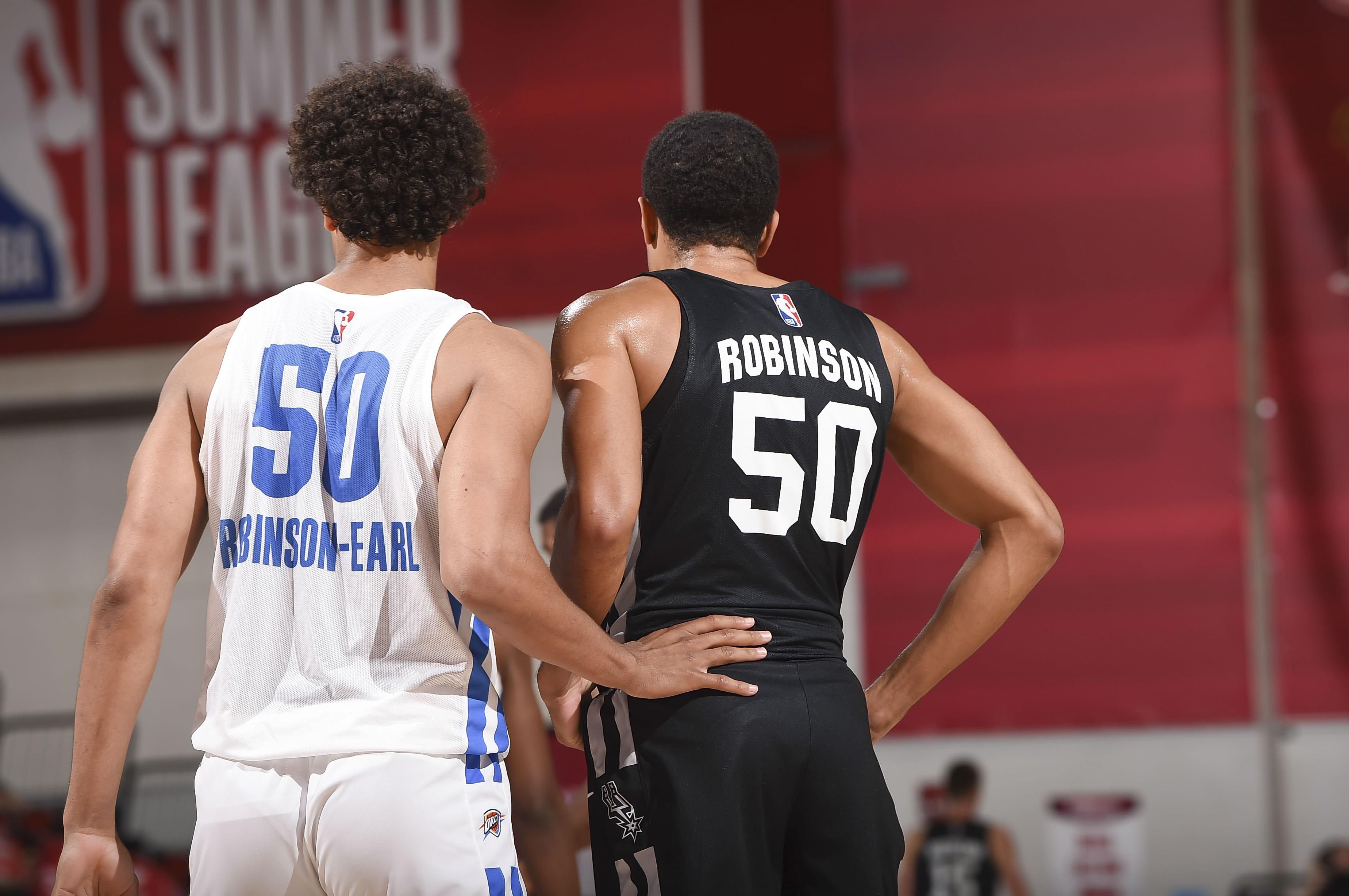 2021 Las Vegas Summer League - San Antonio Spurs v Oklahoma City Thunder