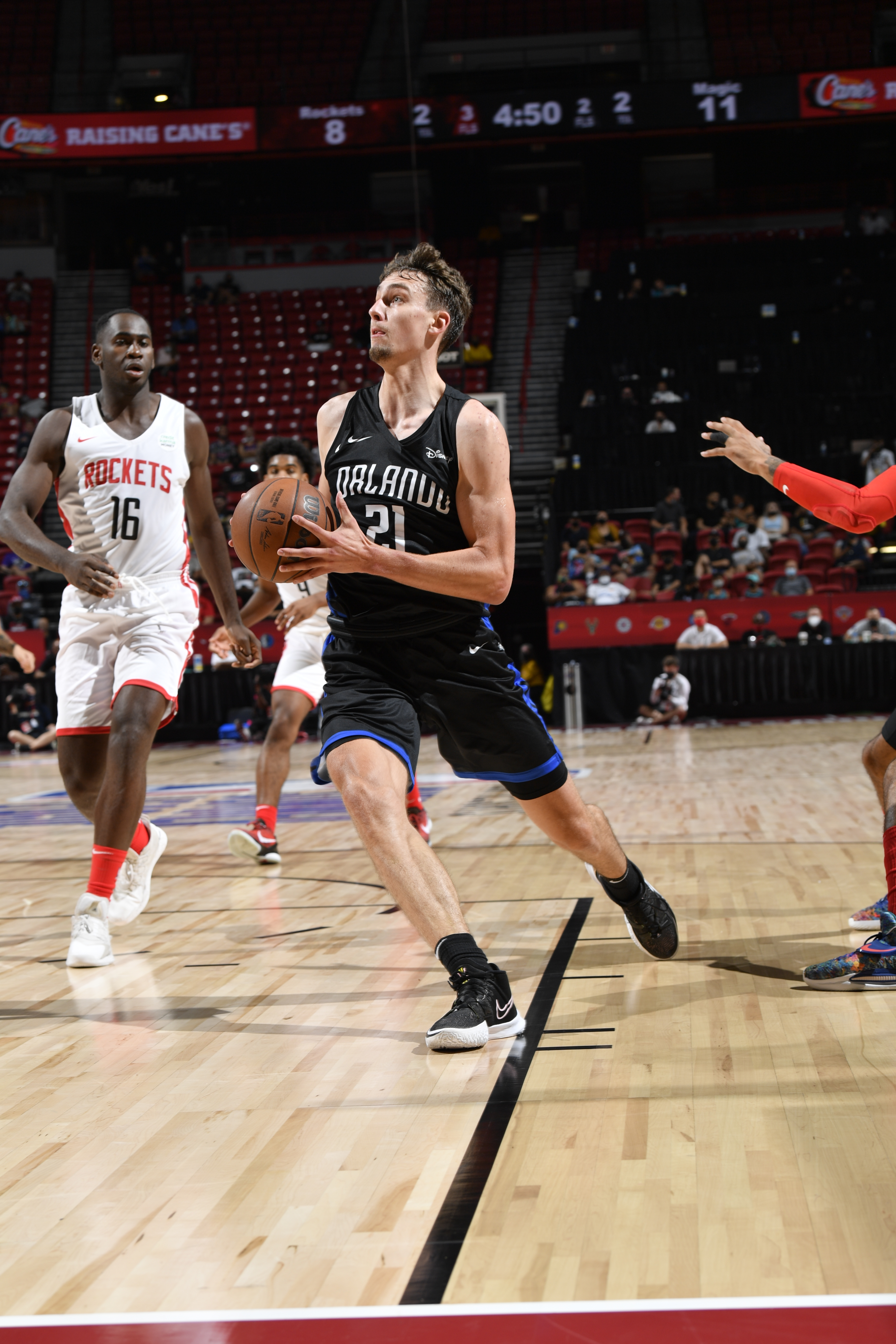 2021 Las Vegas Summer League - Orlando Magic v Houston Rockets