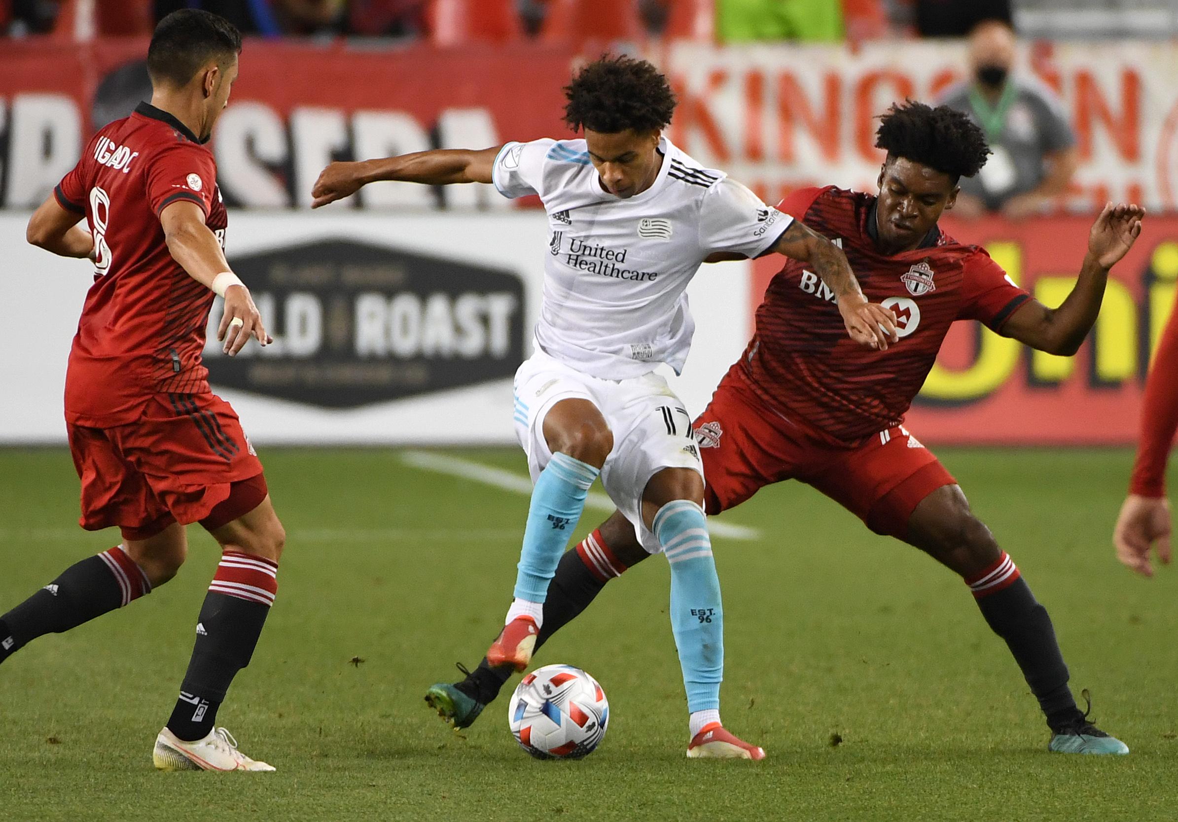 MLS: New England Revolution at Toronto FC