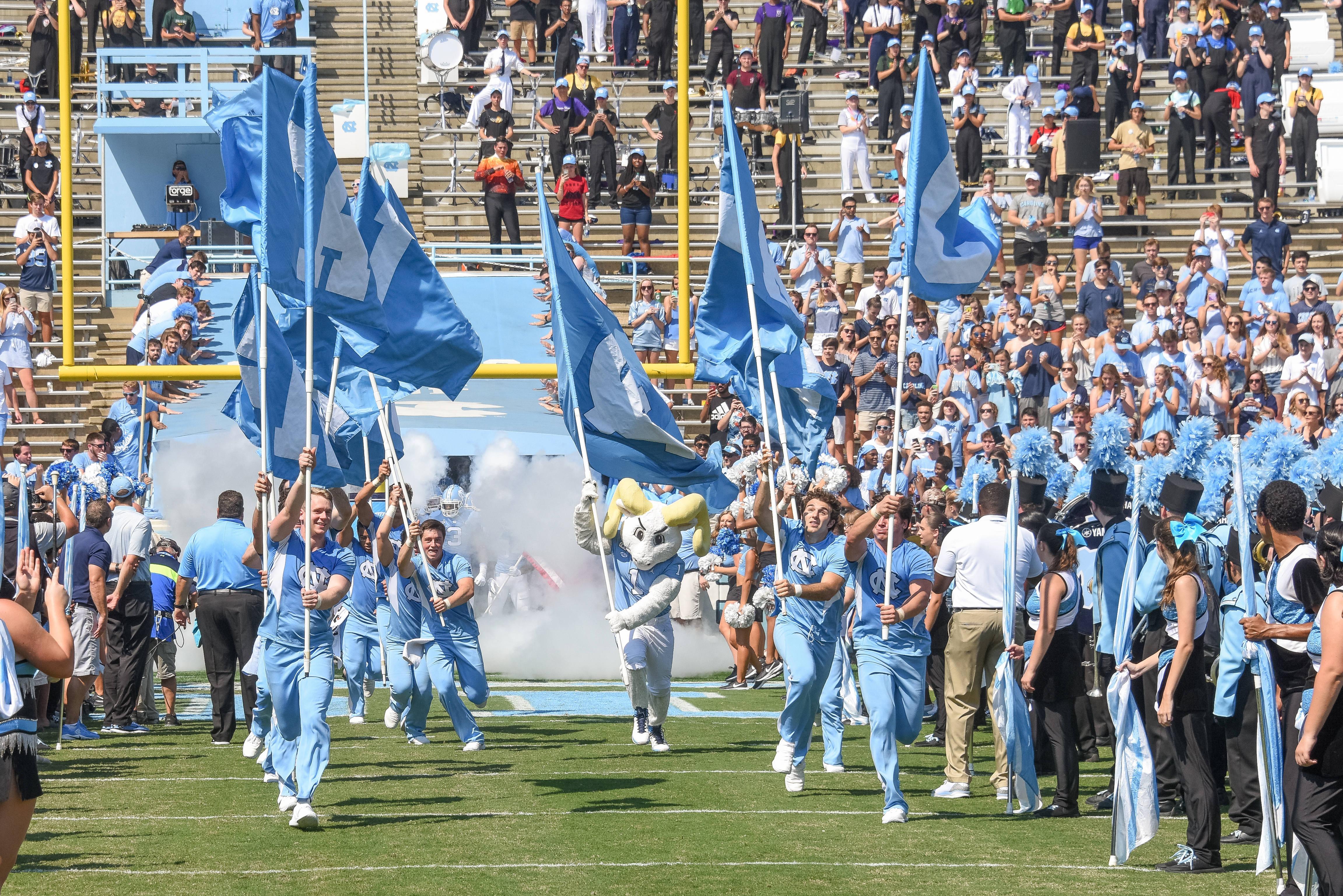 COLLEGE FOOTBALL: SEP 22 Pitt at North Carolina