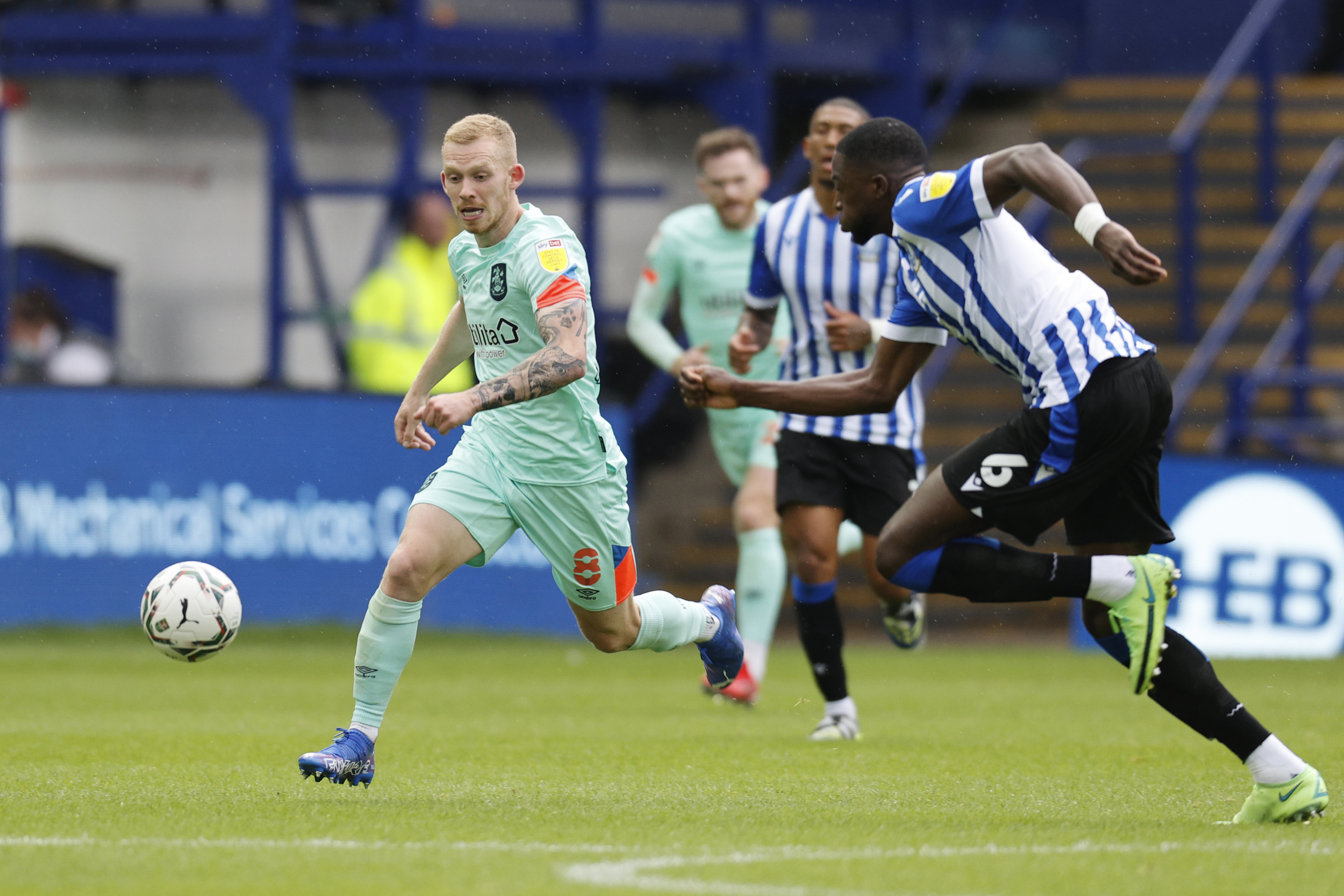 Sheffield Wednesday v Huddersfield Town - Carabao Cup First Round