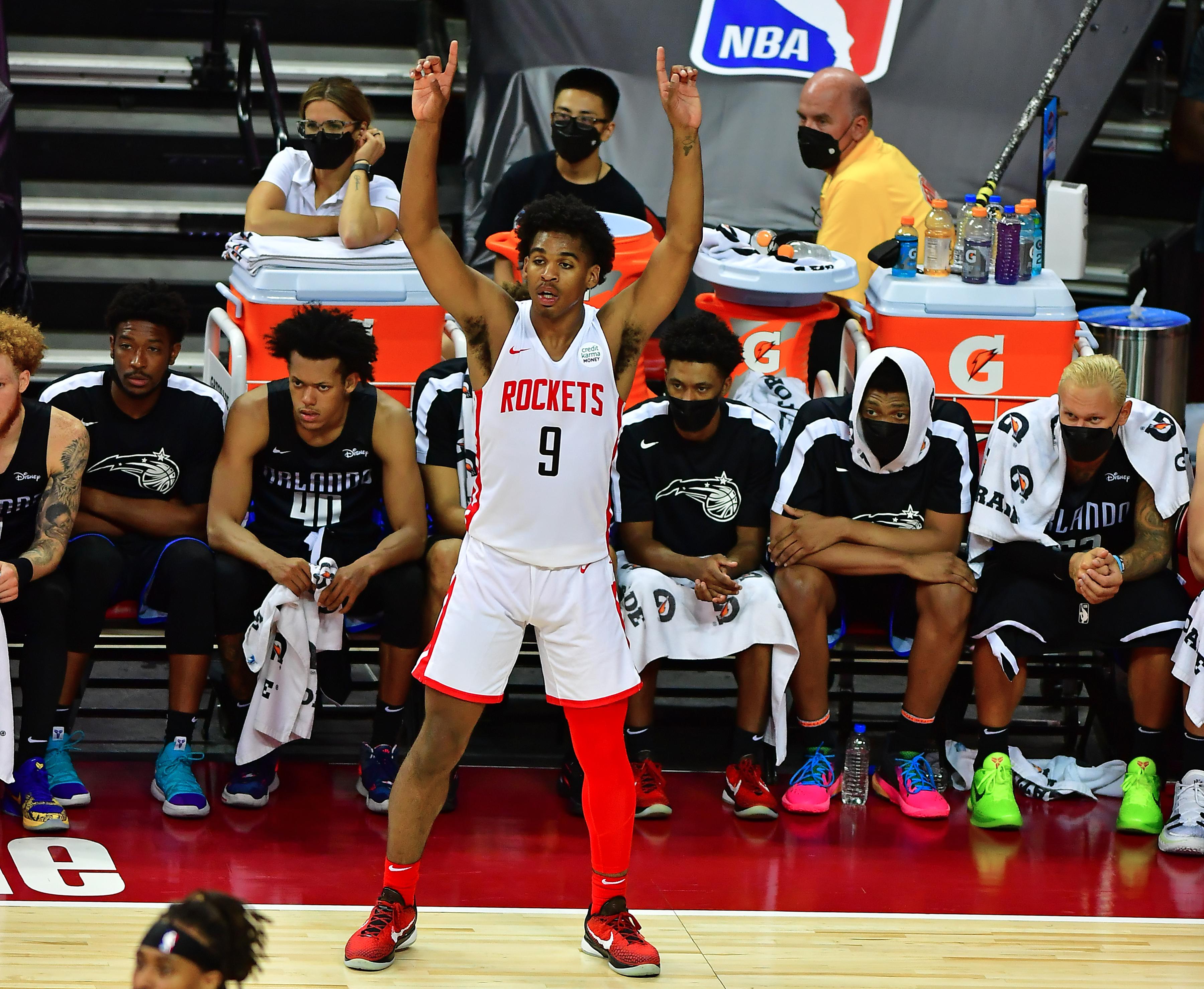 NBA: Summer League-Orlando Magic at Houston Rockets
