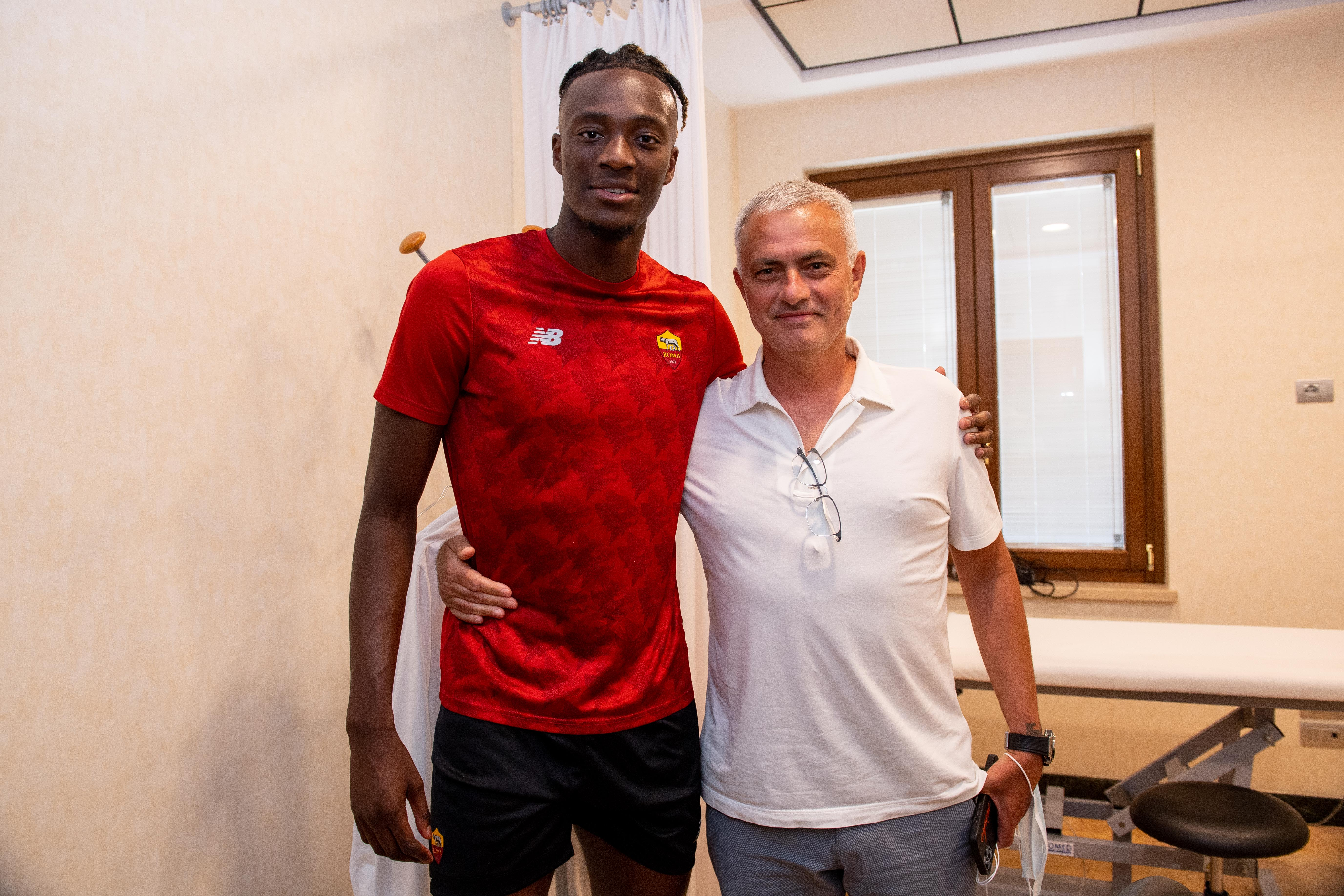AS Roma Unveil New Signing Tammy Abraham