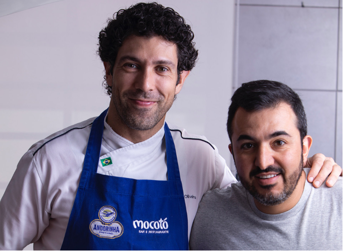 Rodrigo Oliveria and business partner Victor Vasconcellos.