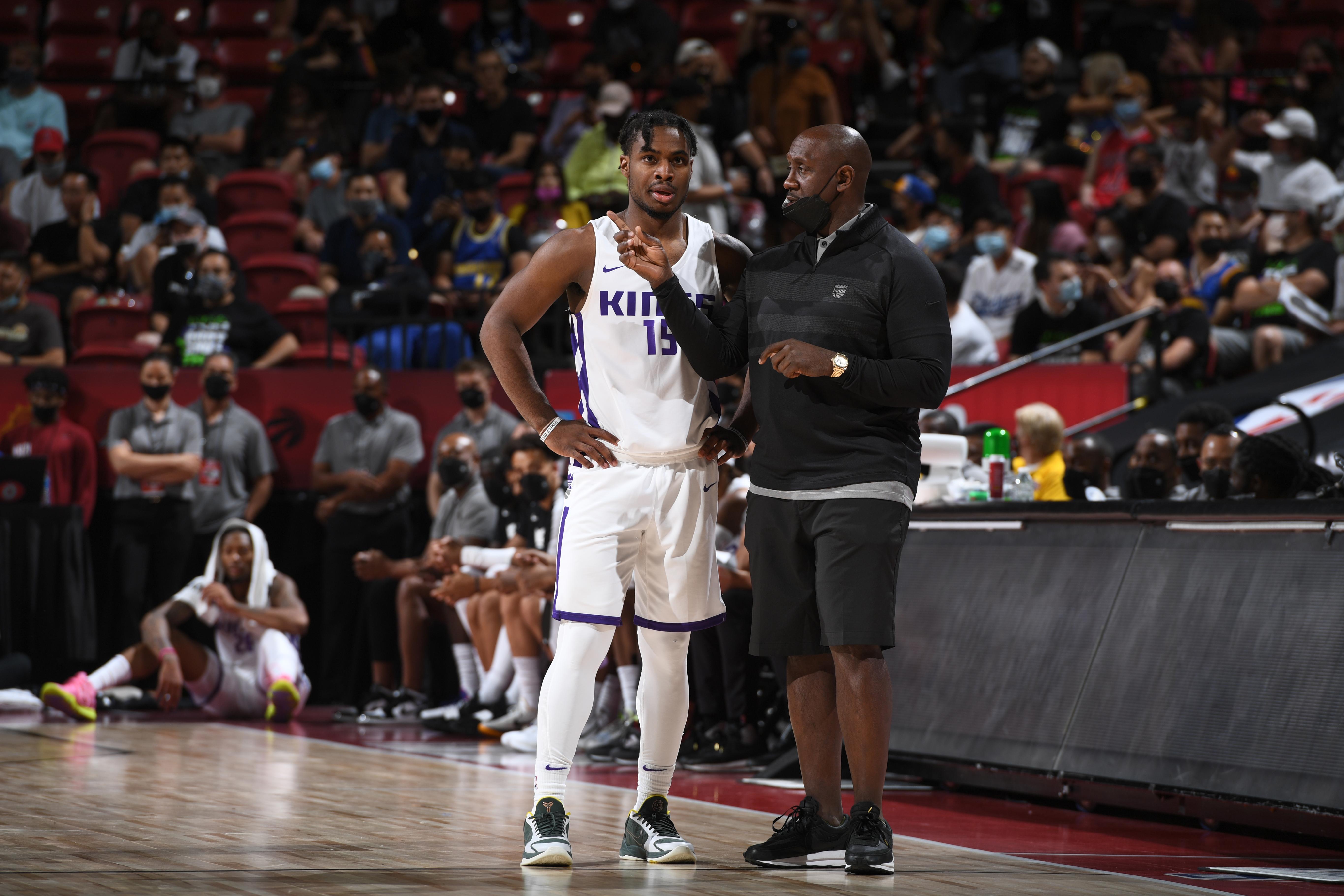2021 Las Vegas Summer League - Charlotte Hornets v Sacramento Kings