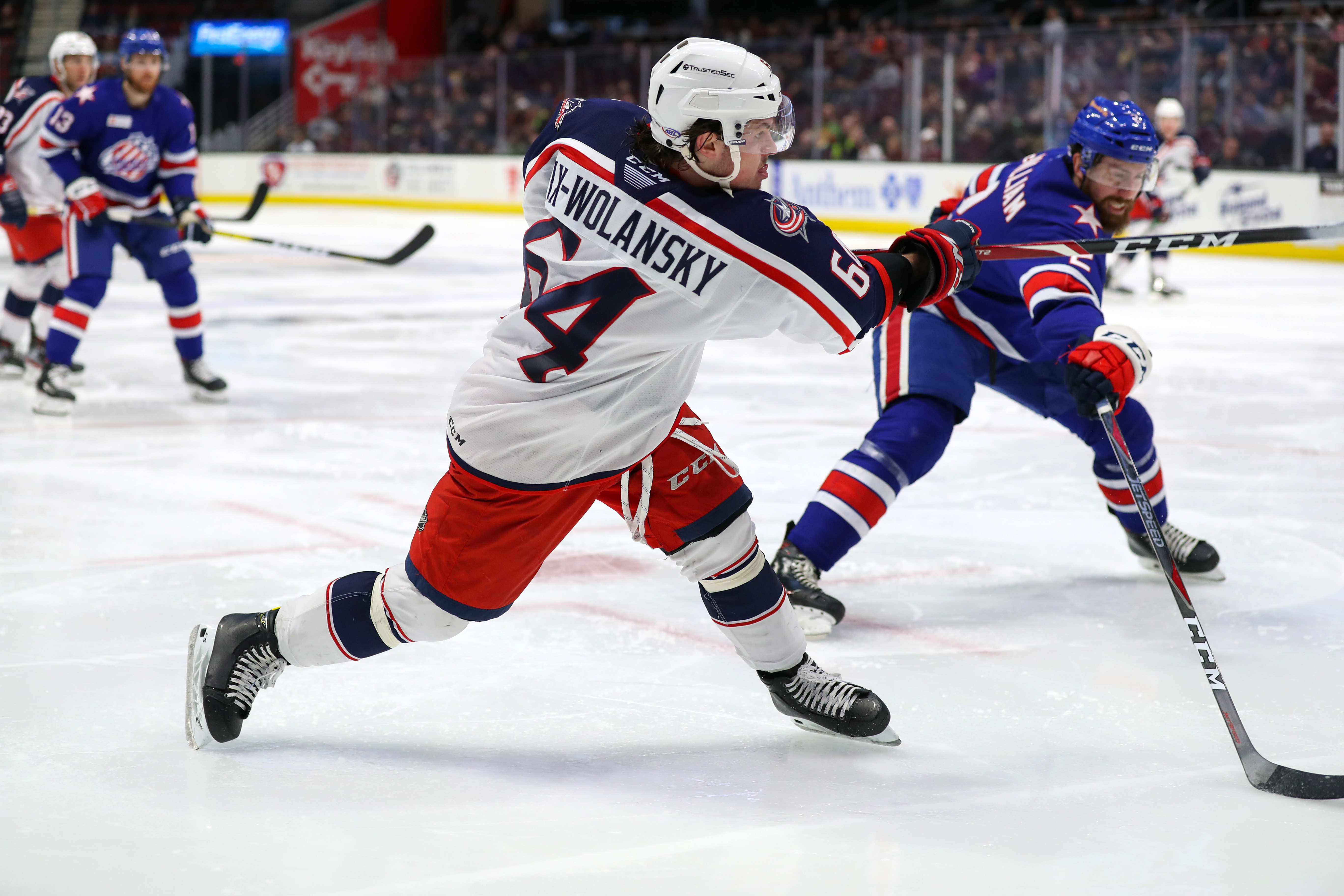 AHL: JAN 22 Rochester Americans at Cleveland Monsters