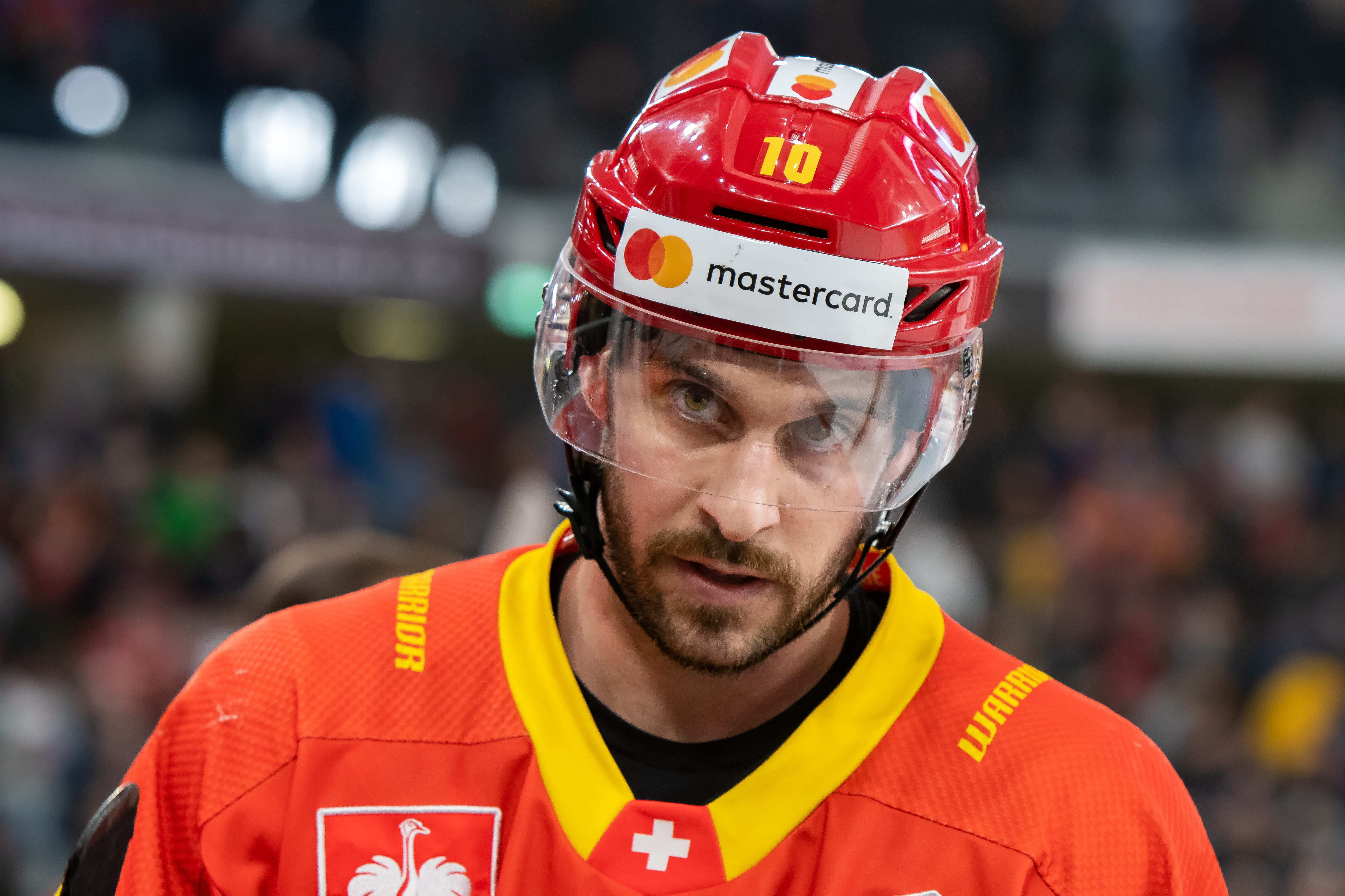 EHC Biel-Bienne v Frolunda HC - Champions Hockey League