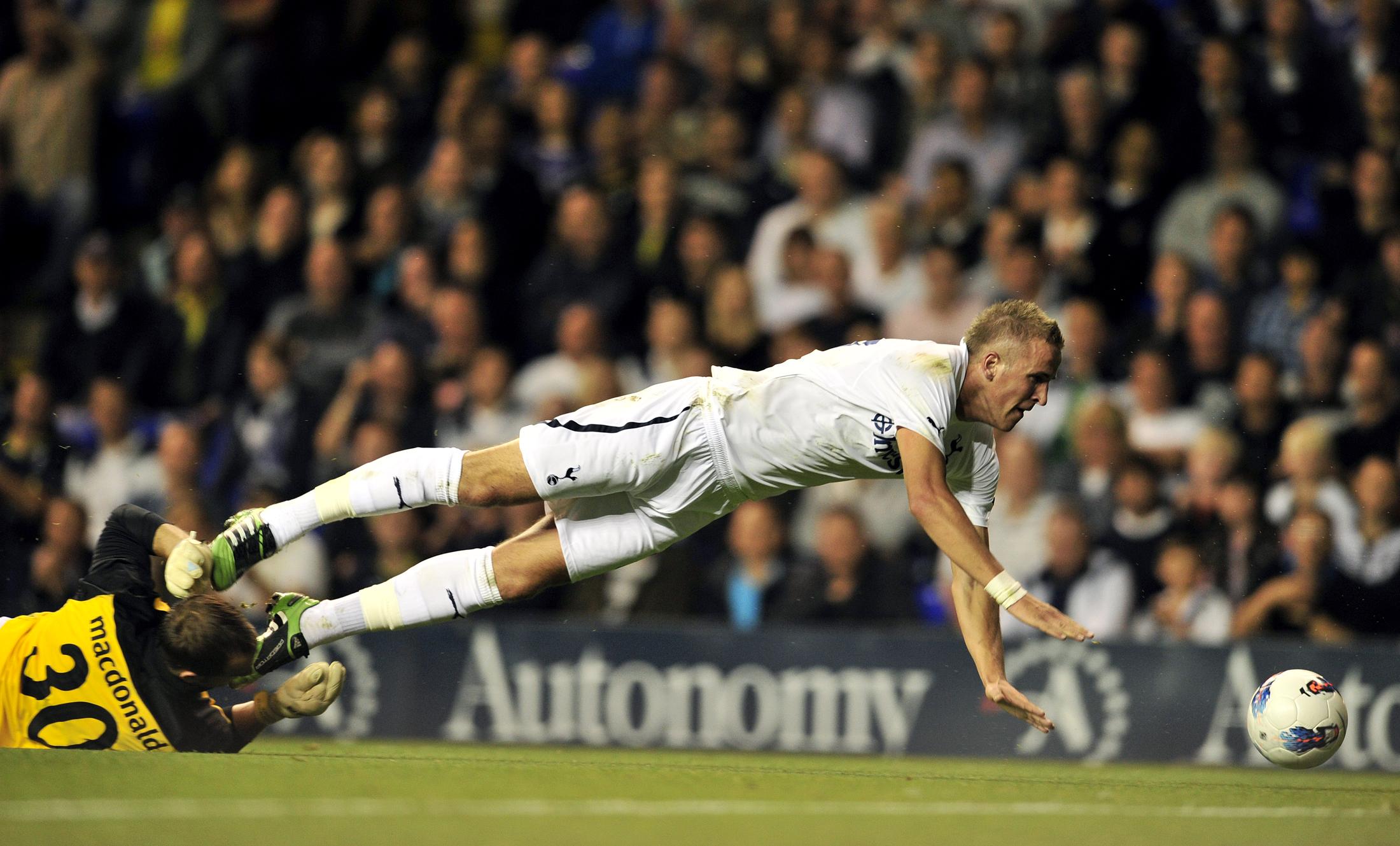 Tottenham Hotspur's English striker Harr