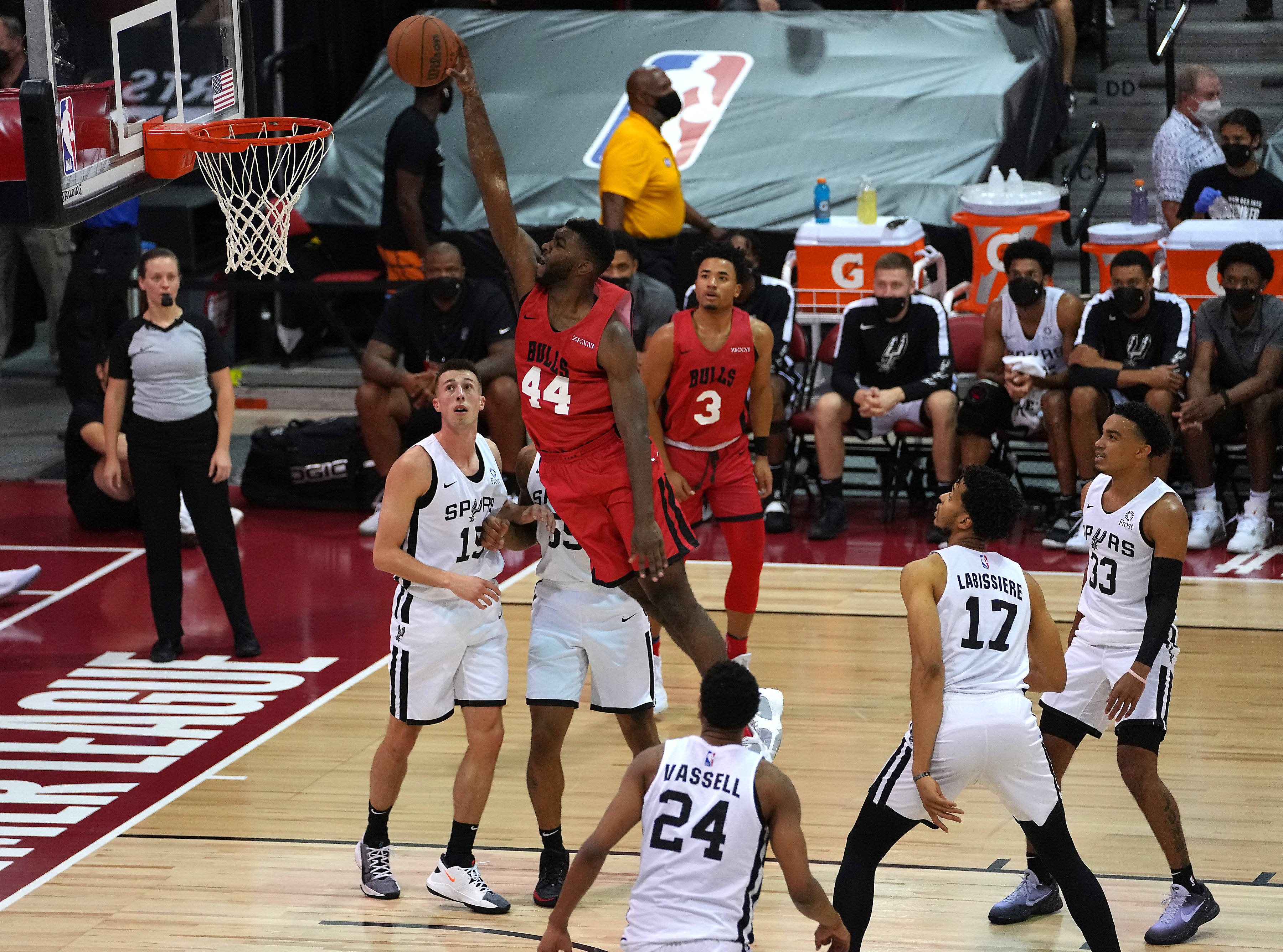 NBA: Summer League-Chicago Bulls at San Antonio Spurs