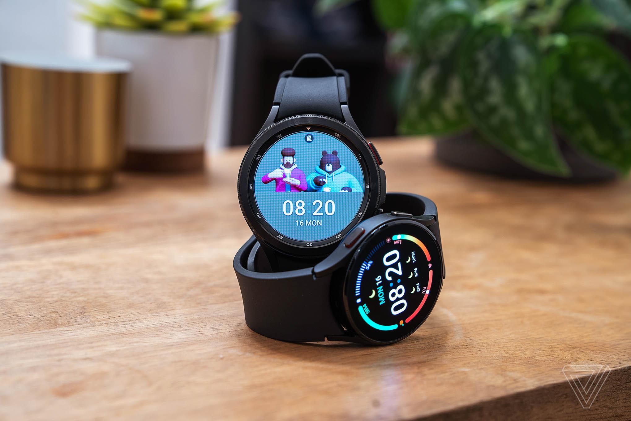 The Galaxy Watch 4 Classic and Galaxy Watch 4