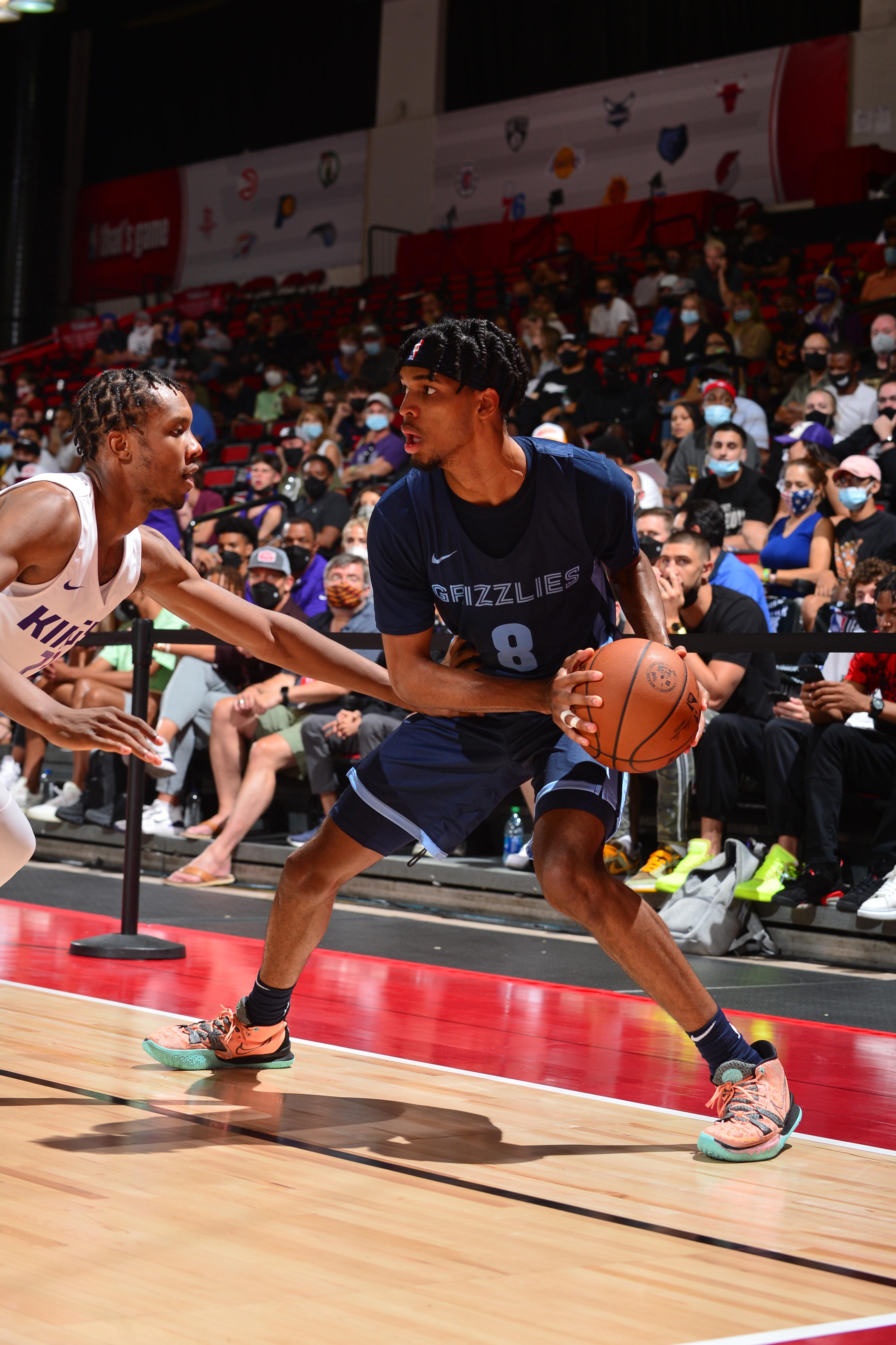 2021 Las Vegas Summer League - Memphis Grizzlies v Sacramento Kings