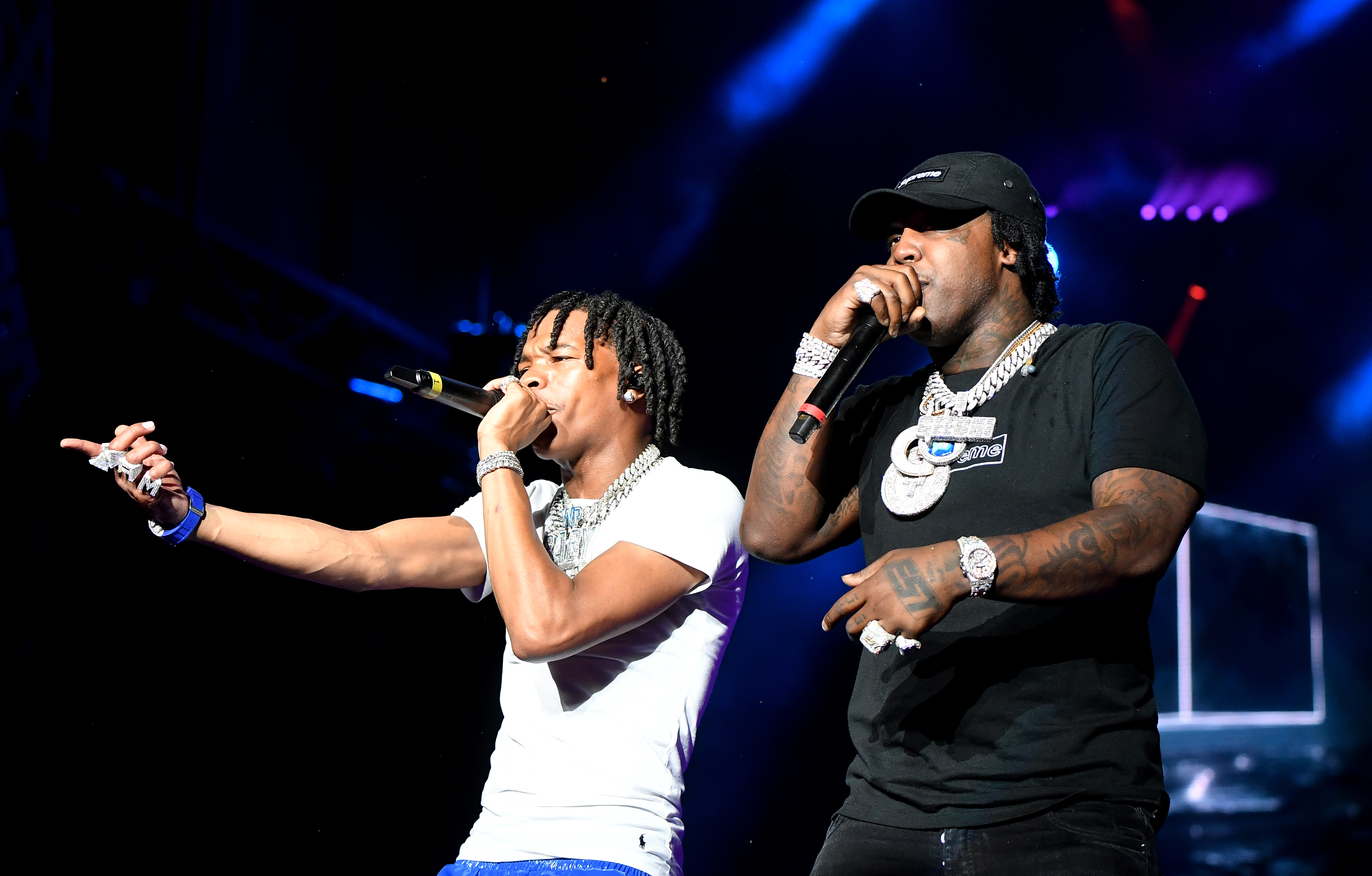 Lil Wayne and EST Gee