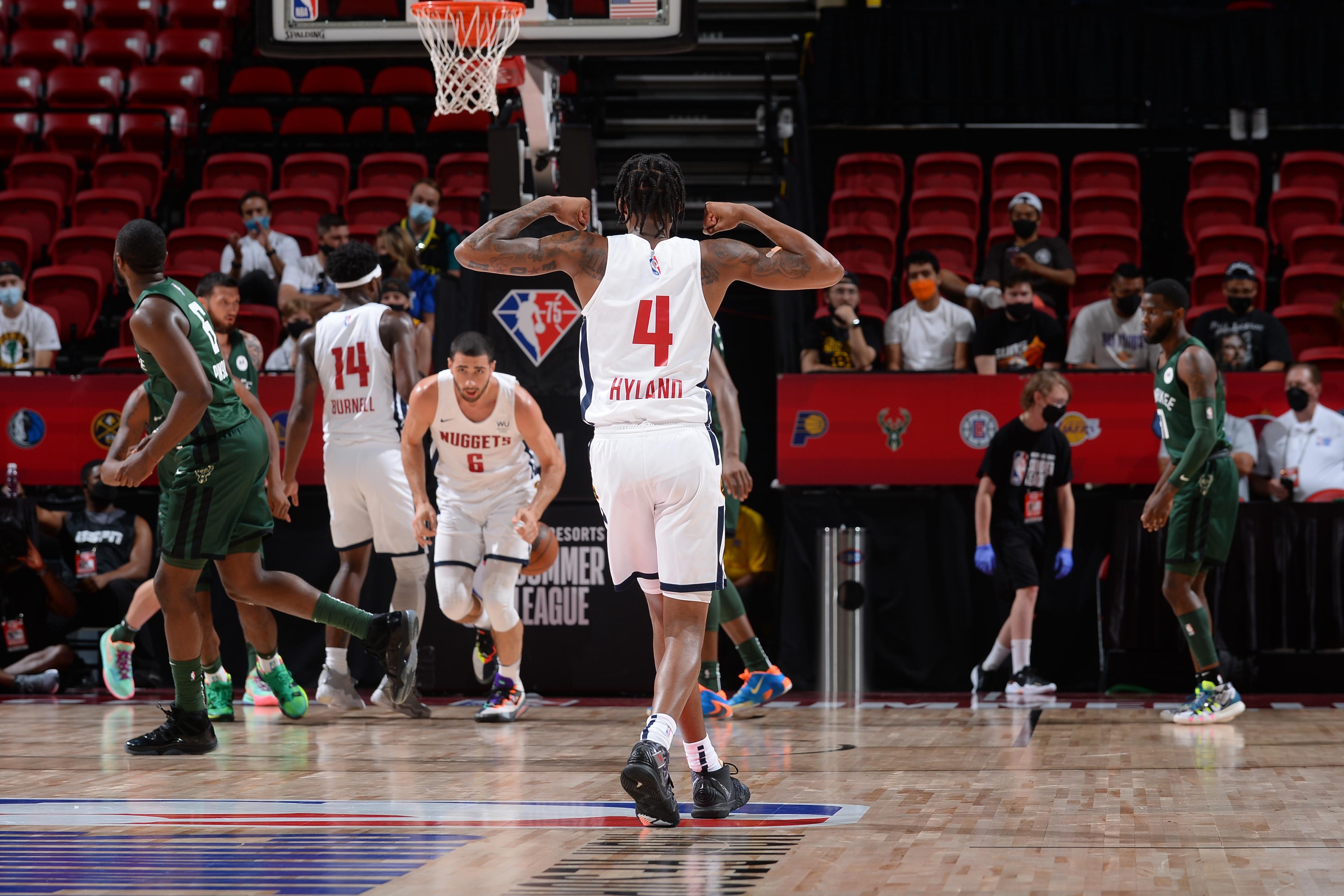 2021 Las Vegas Summer League - Milwaukee Bucks v Denver Nuggets