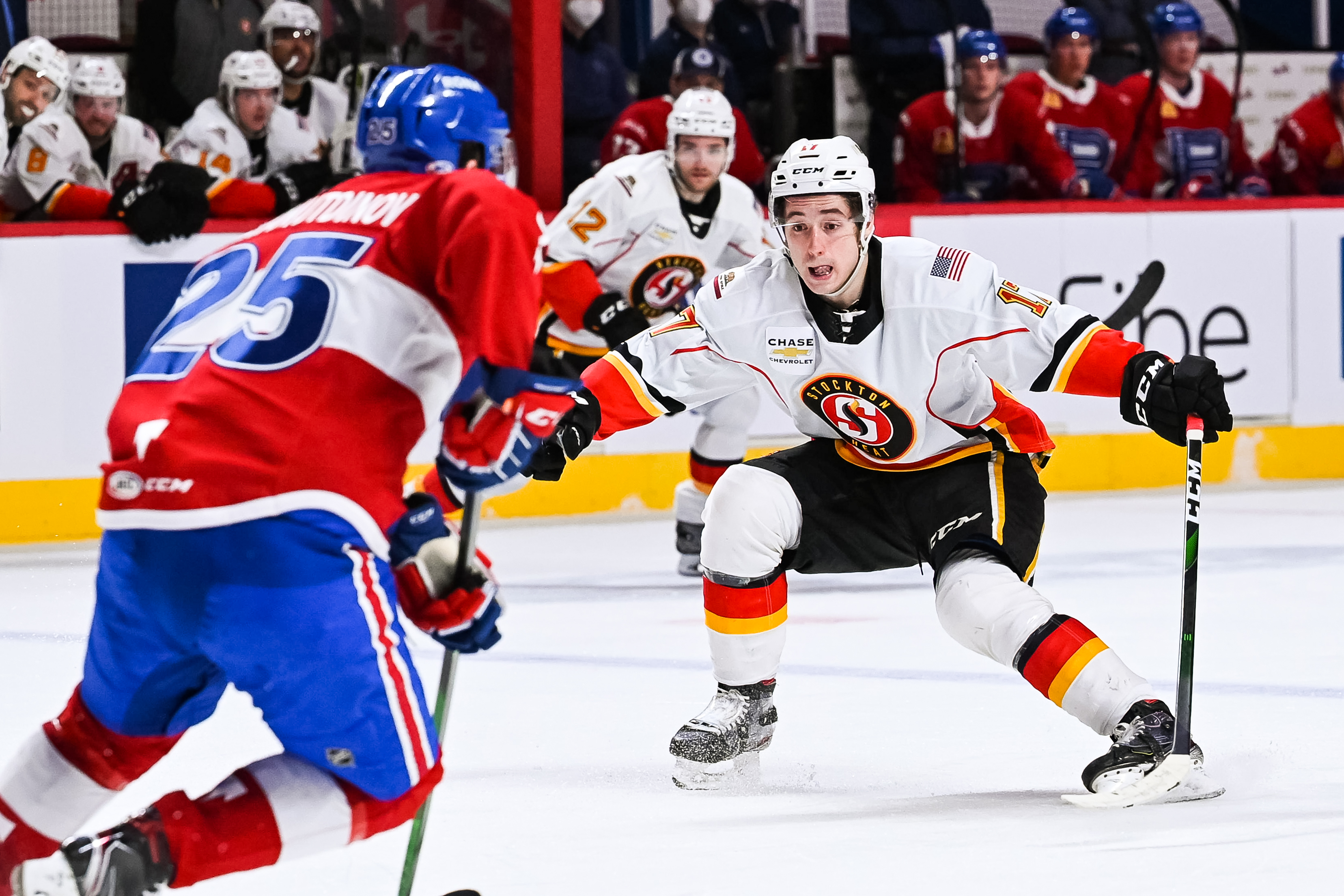 AHL: APR 04 Stockton Heat at Laval Rocket