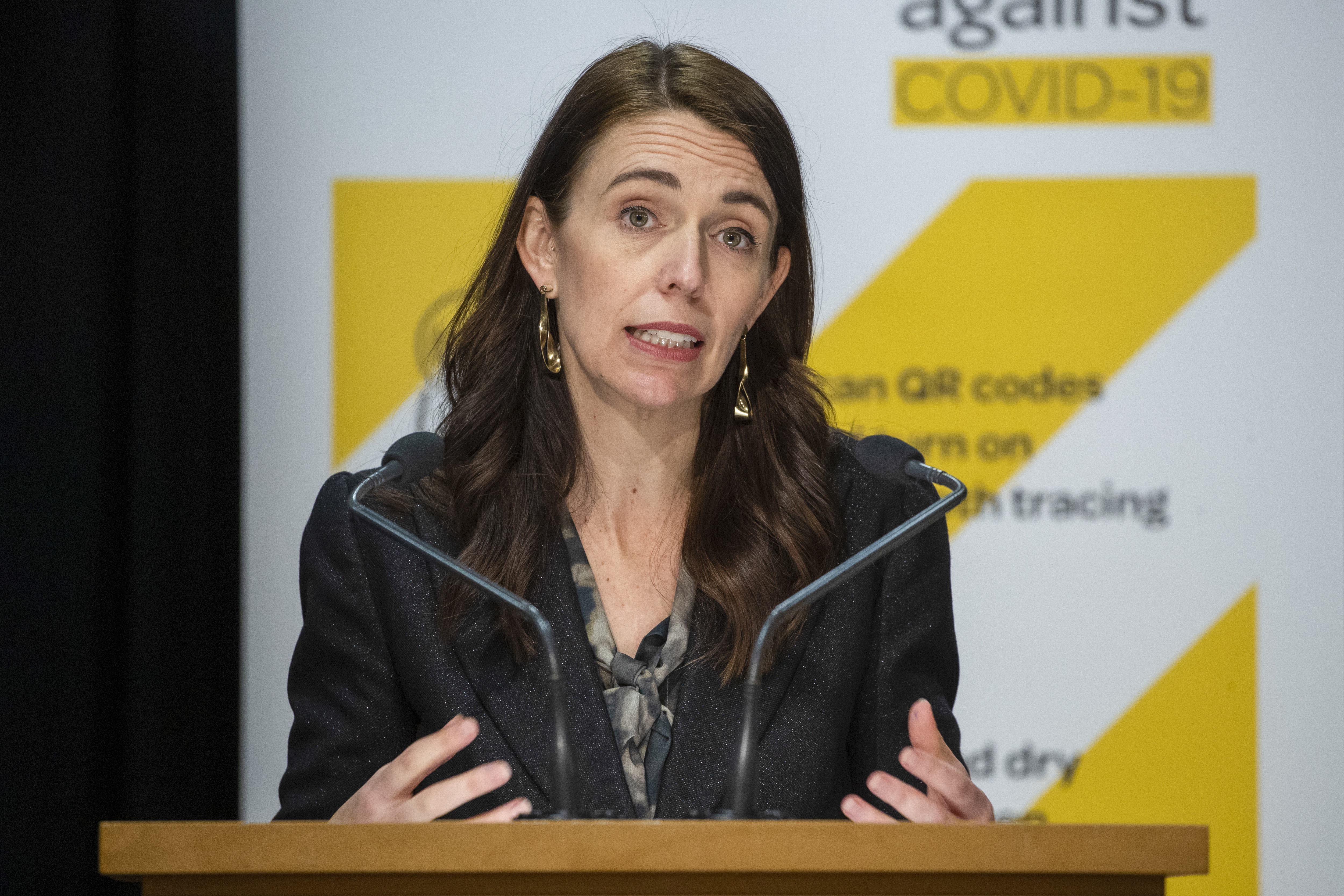 New Zealand's prime minister speaks to Parliament about the nation's new COVID-19 lockdown.