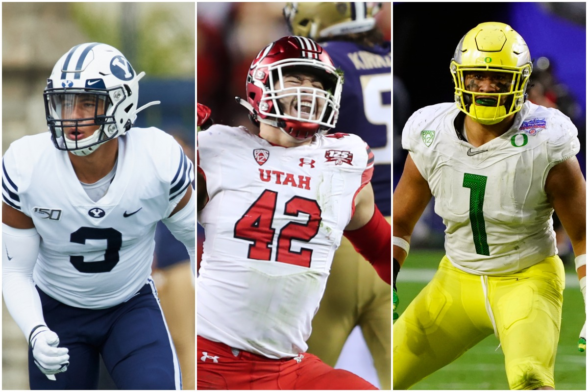 BYU's Chaz Ah You, Utah's Mika Tafua and Oregon' Noah Sewell, who prepped at Orem High, were among several players with Utah ties were included on the Polynesian College Football Player of the Year watch list.