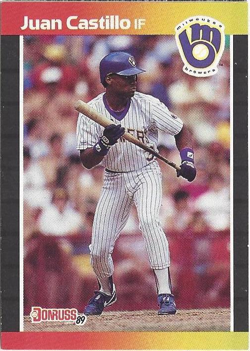 Castillo's 1989 Donruss card, #530