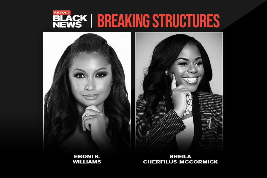 Eboni K. Williams and Sheila Cherfilus-McCormick