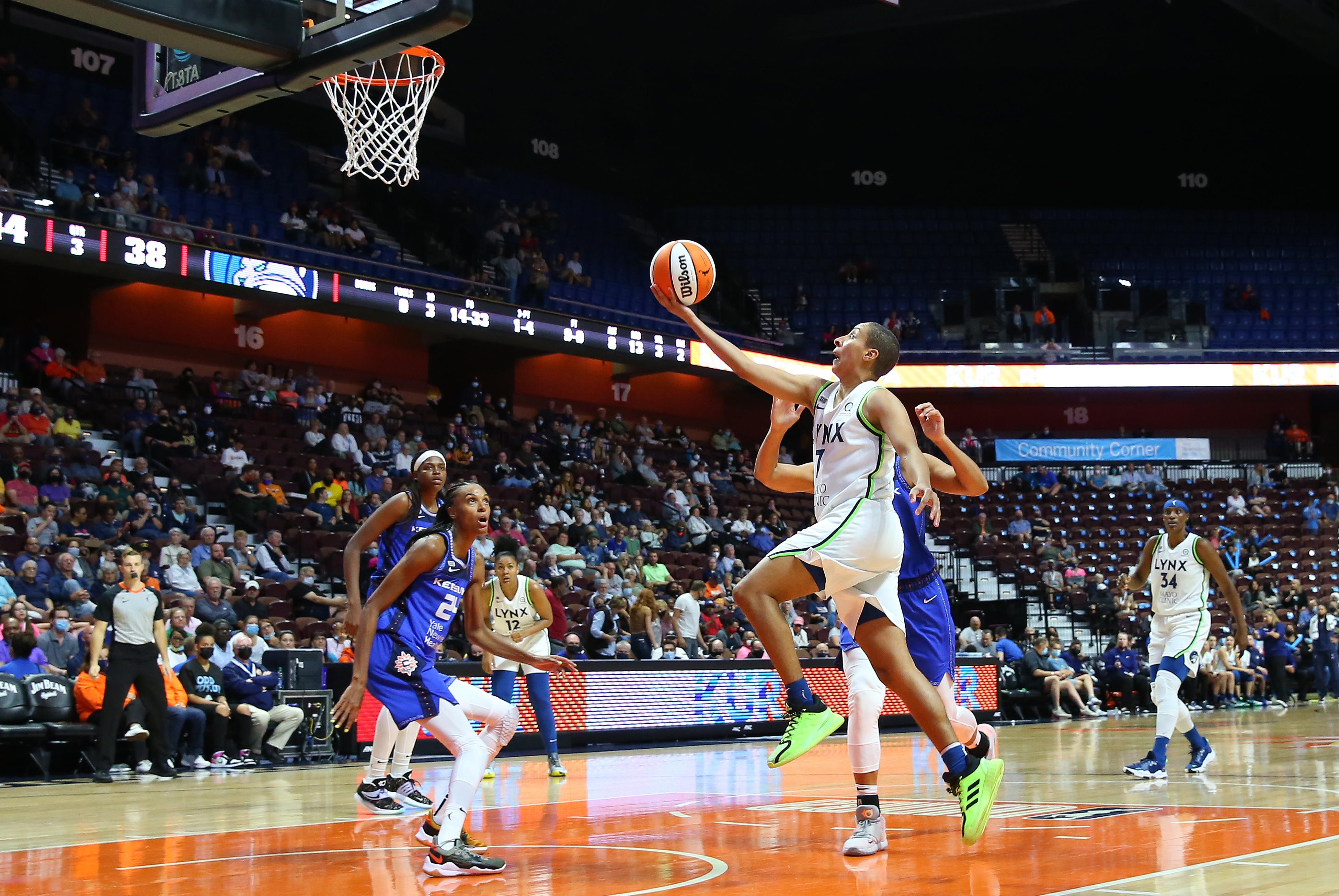 WNBA: AUG 19 Minnesota Lynx at Connecticut Sun