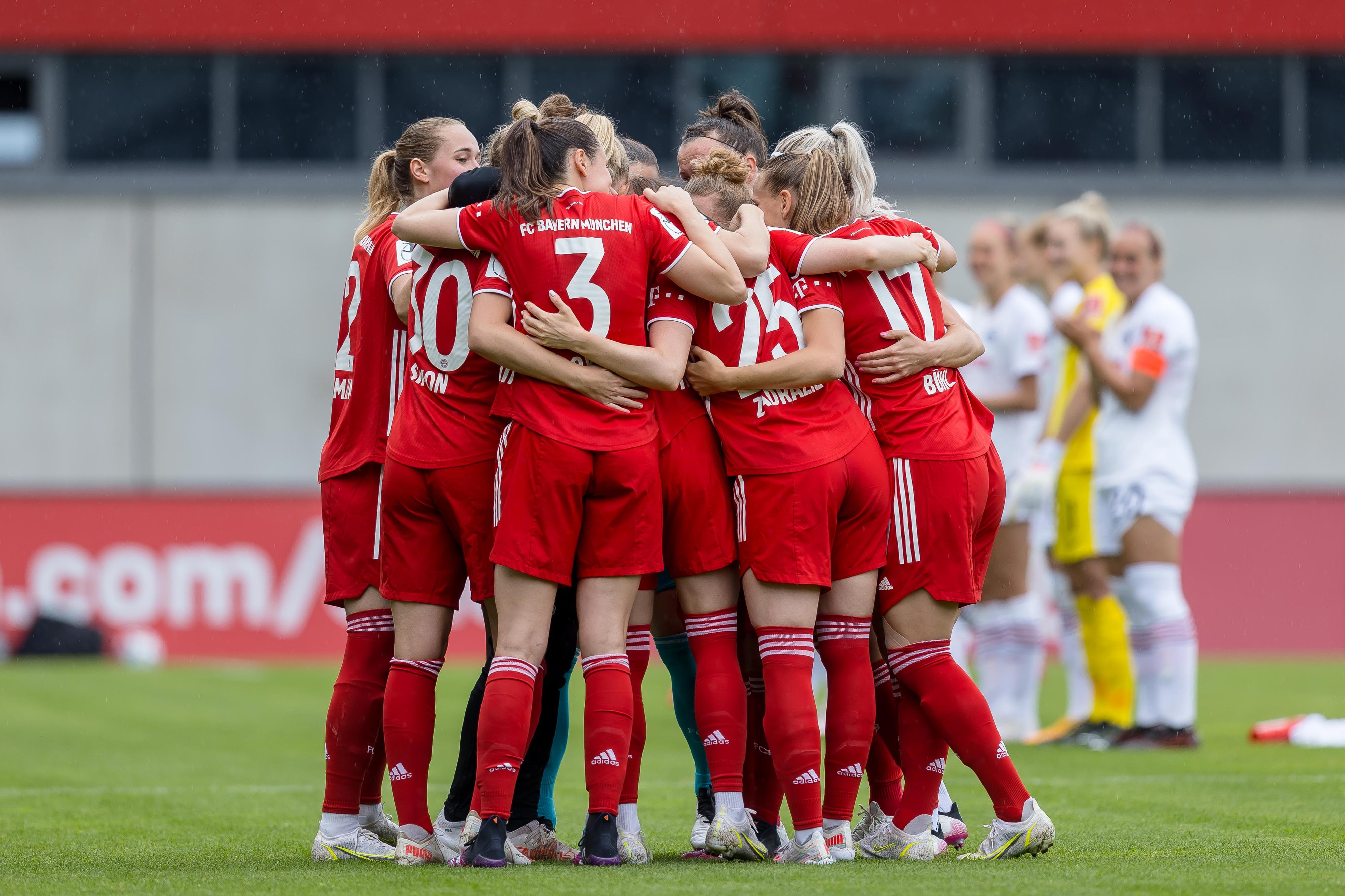 FC Bayern München v Eintracht Frankfurt - FLYERALARM Frauen Bundesliga