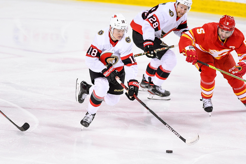 NHL: MAY 09 Senators at Flames