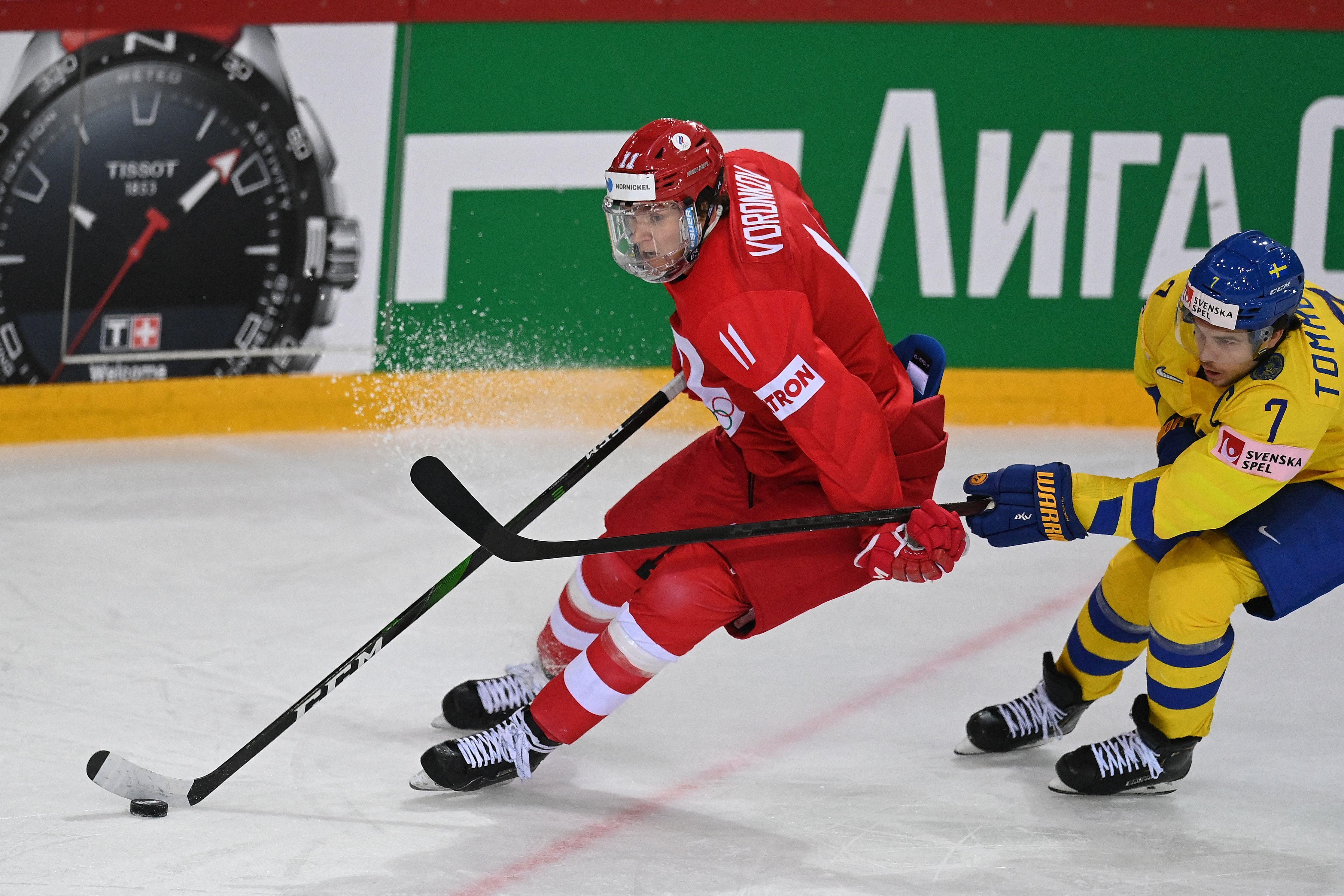 IHOCKEY-WC-IIHF-RUS-SWE
