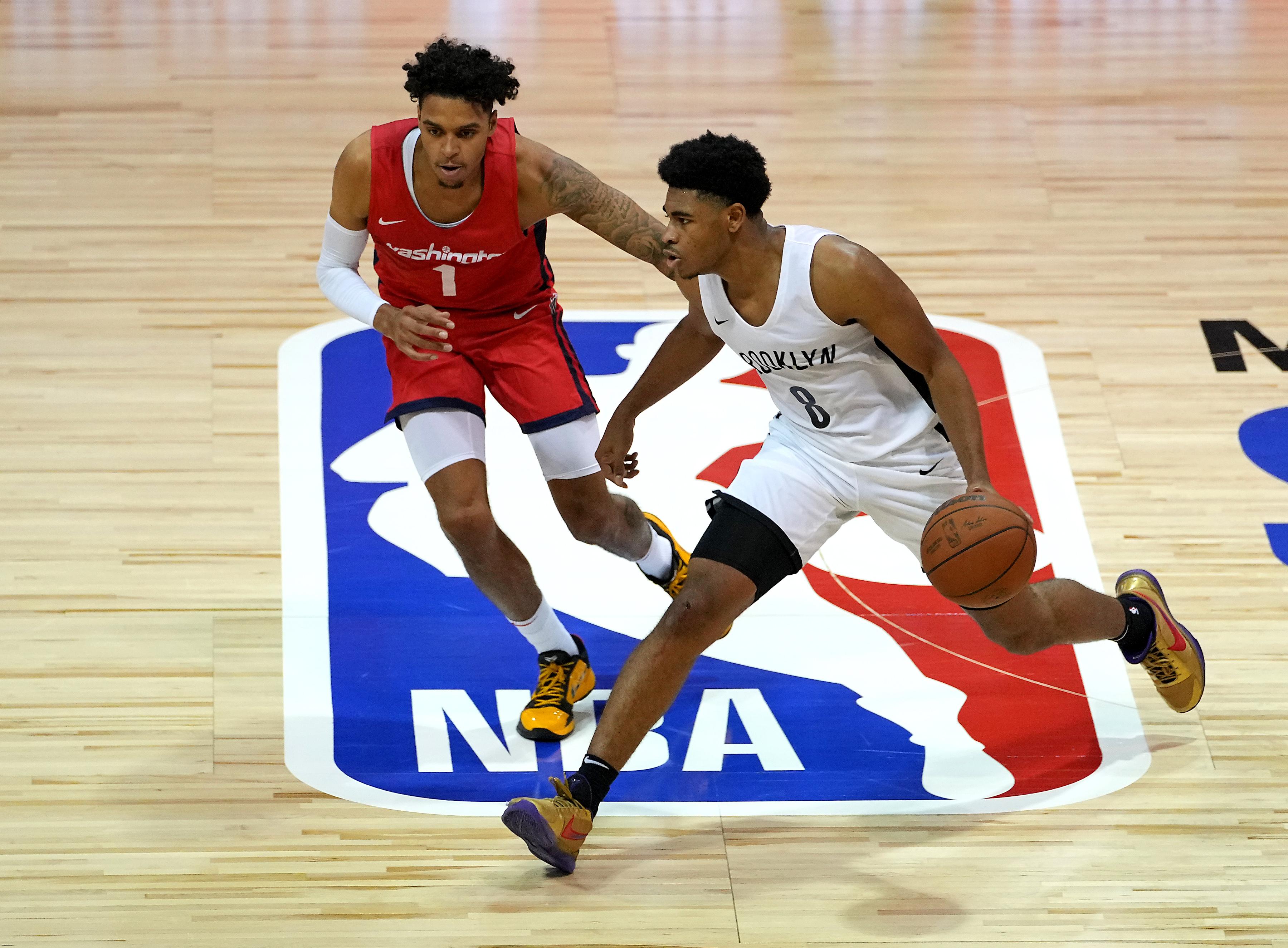 NBA: Summer League-Washington Wizards at Brooklyn Nets