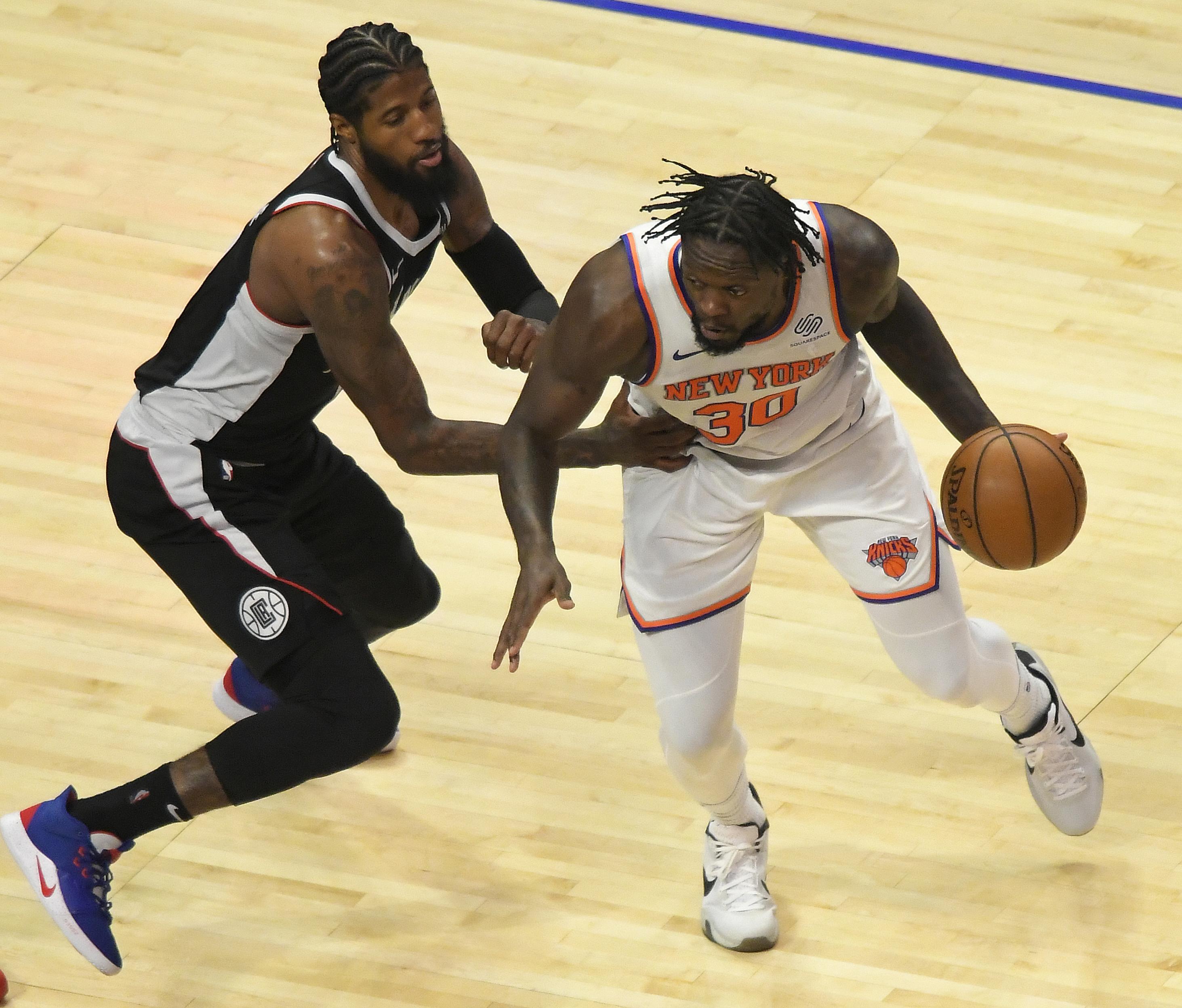 NBA: MAY 09 Knicks at Clippers